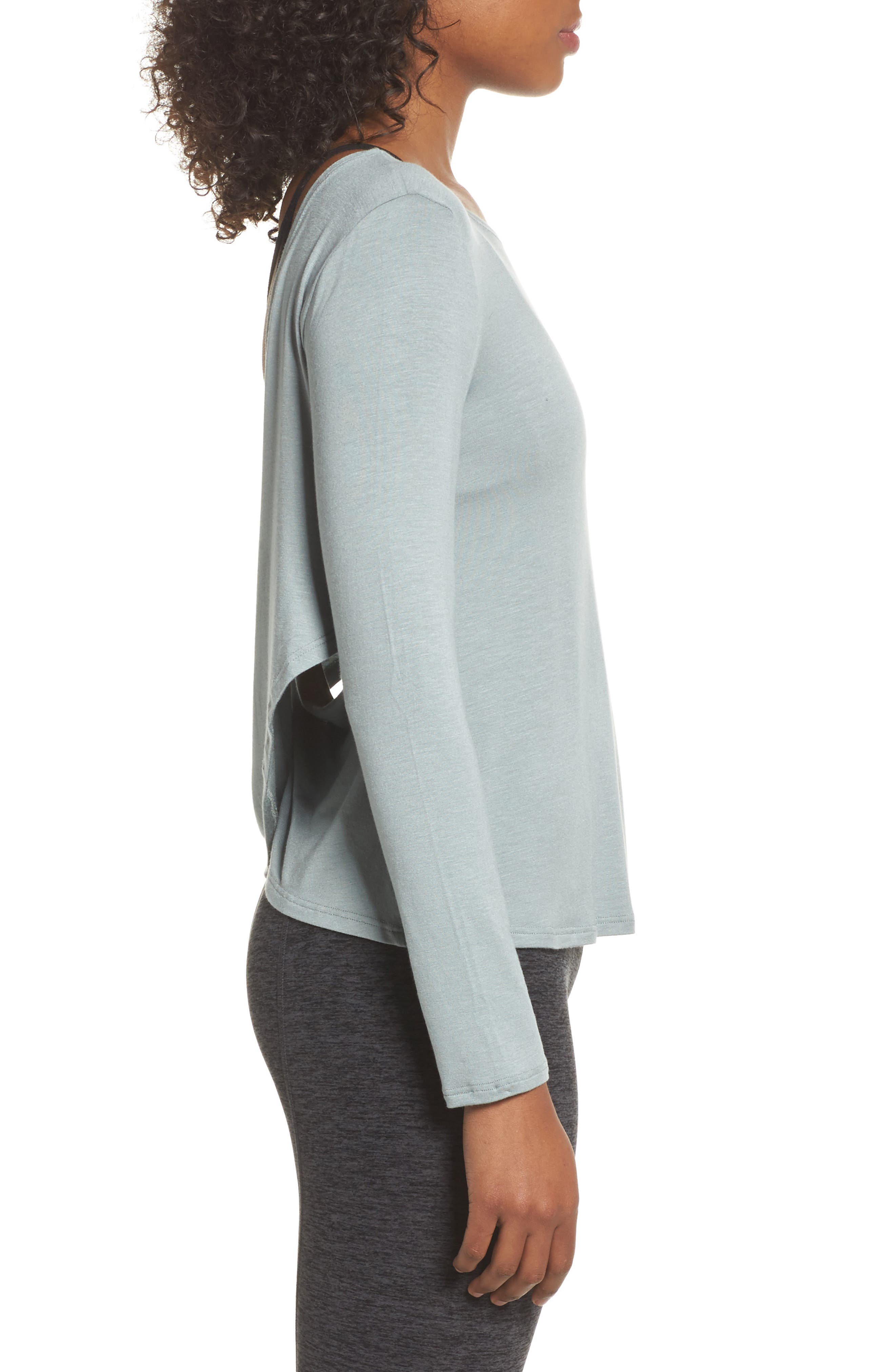 Alternate Image 3  - Beyond Yoga Twist of Fate Pullover