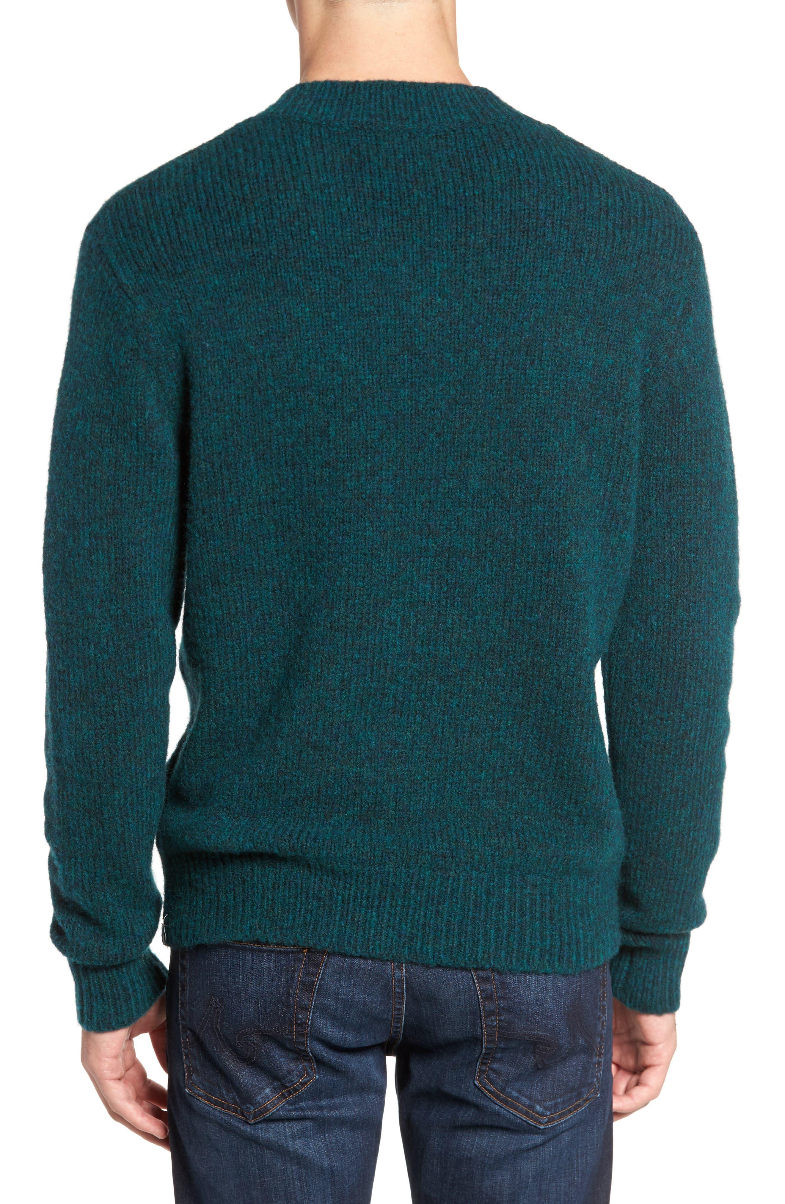 Alternate Image 2  - Bonobos Fuzzy Deep V-Neck Wool Blend Sweater