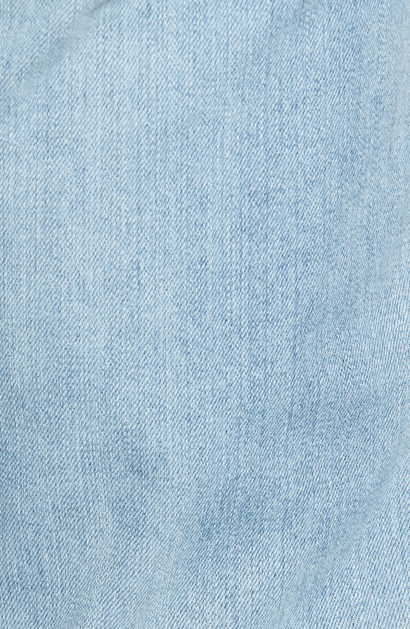 Dylan Slim Skinny Fit Jeans,                             Alternate thumbnail 5, color,                             23 Years Oceanside