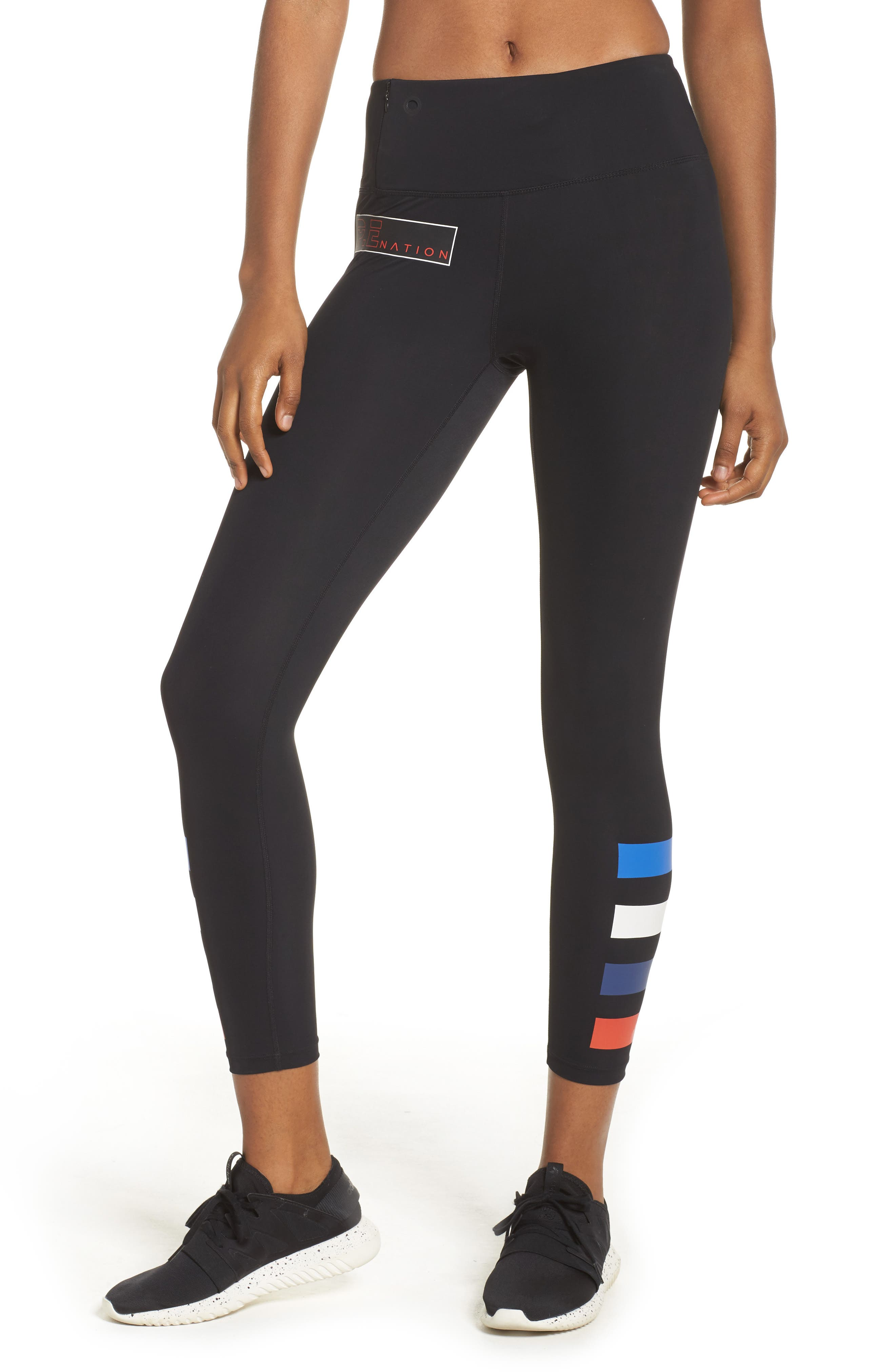 Alternate Image 1 Selected - P.E Nation The Resilient Ankle Leggings
