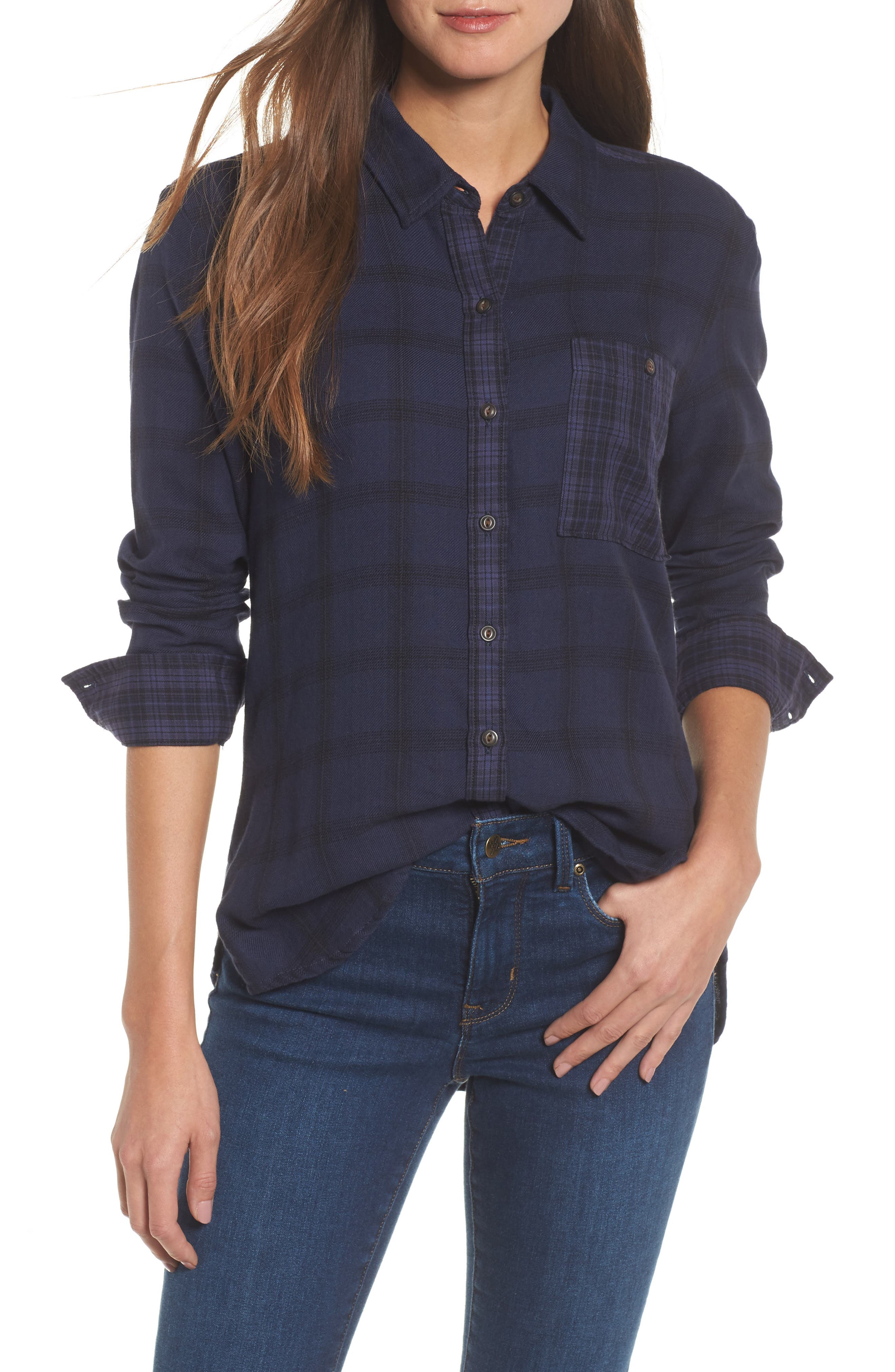 Lucky Brand Plaid Pocket Shirt