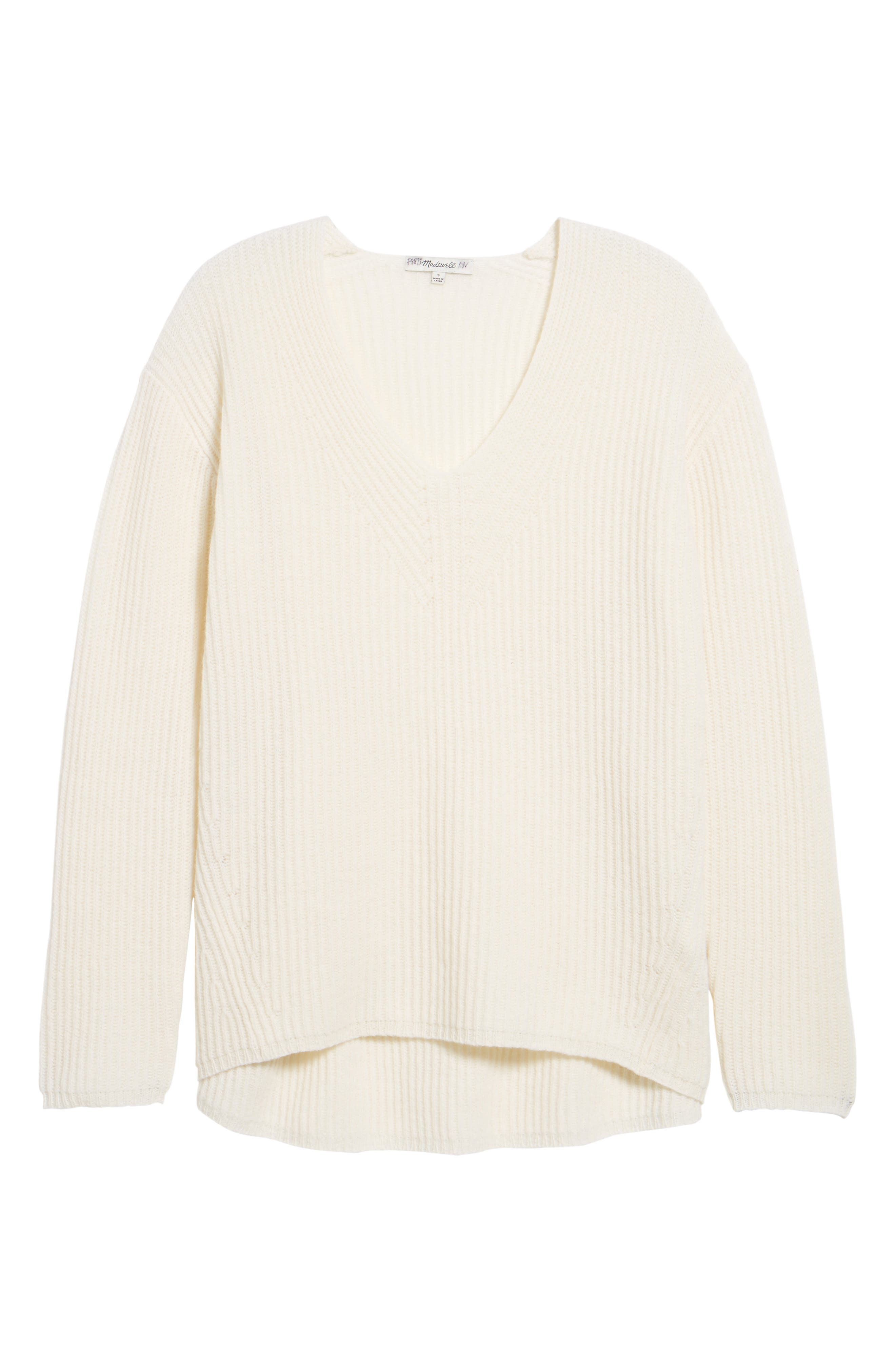 Main Image - Madewell Woodside Pullover Sweater