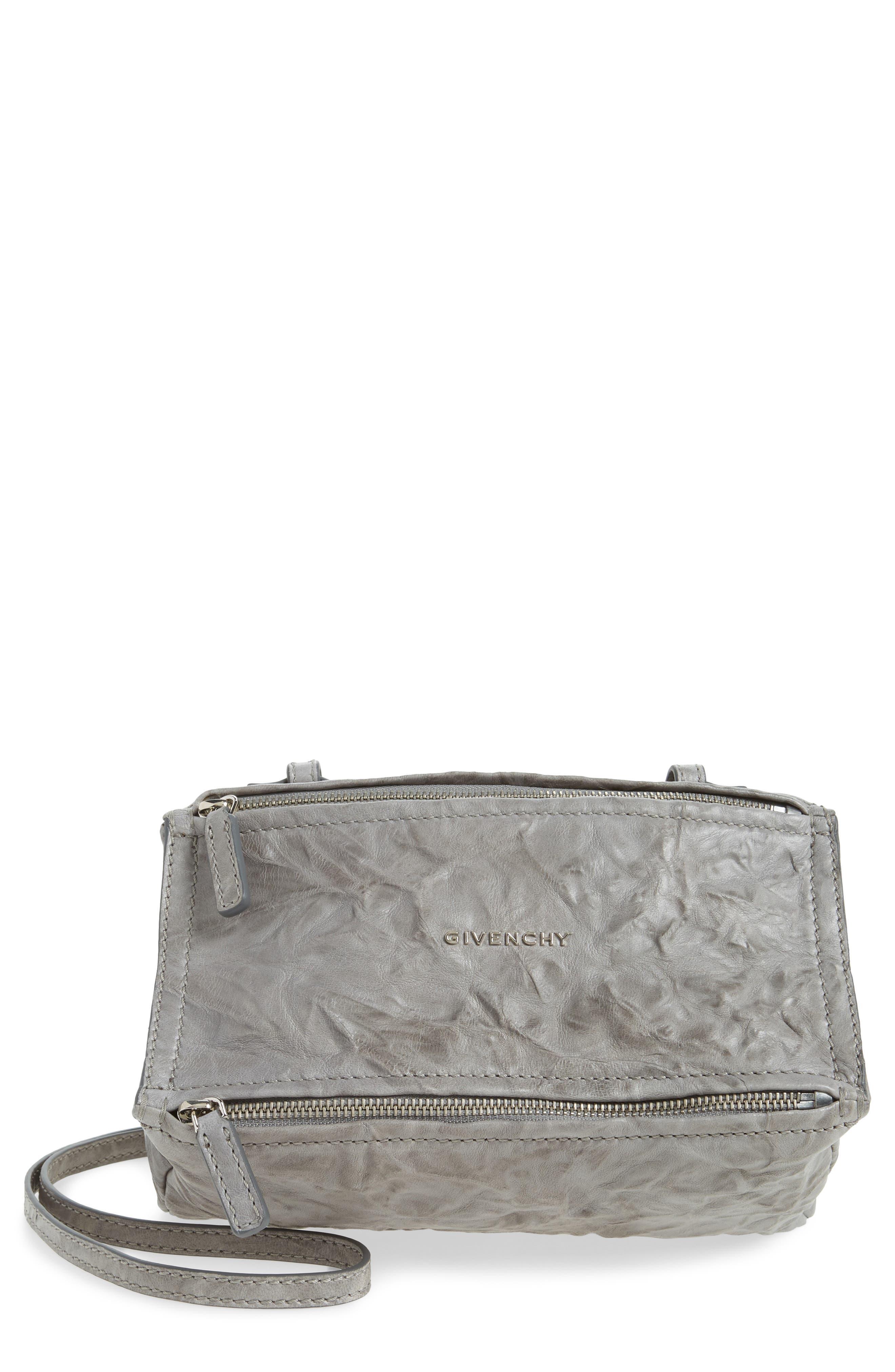 Alternate Image 1 Selected - Givenchy 'Mini Pepe Pandora' Leather Shoulder Bag