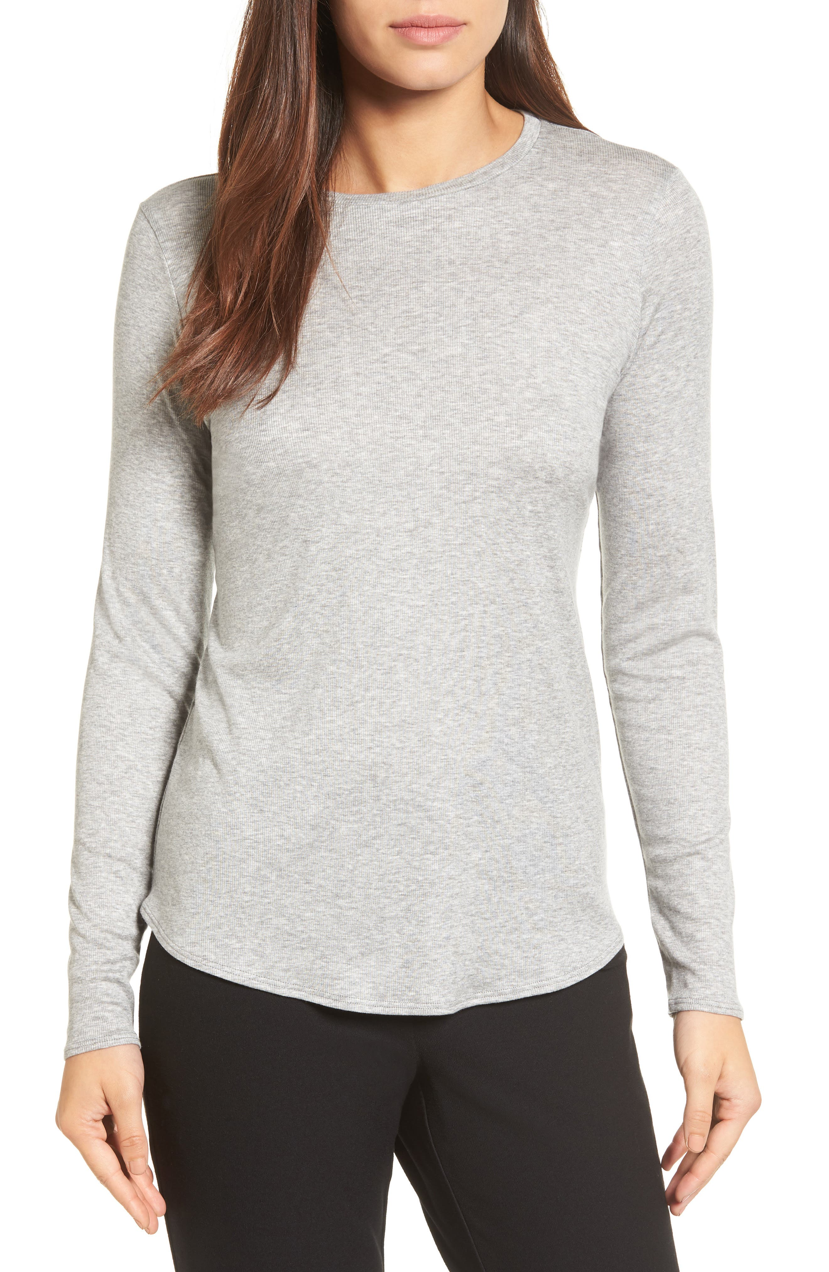 Main Image - Eileen Fisher Stretch Tencel® Top