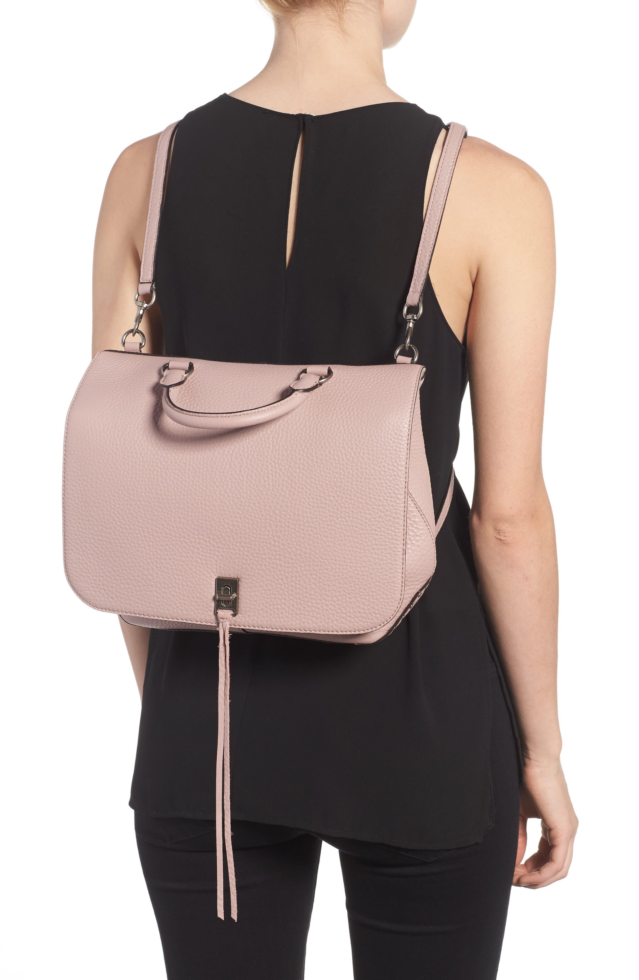 Alternate Image 2  - Rebecca Minkoff Darren Convertible Leather Backpack