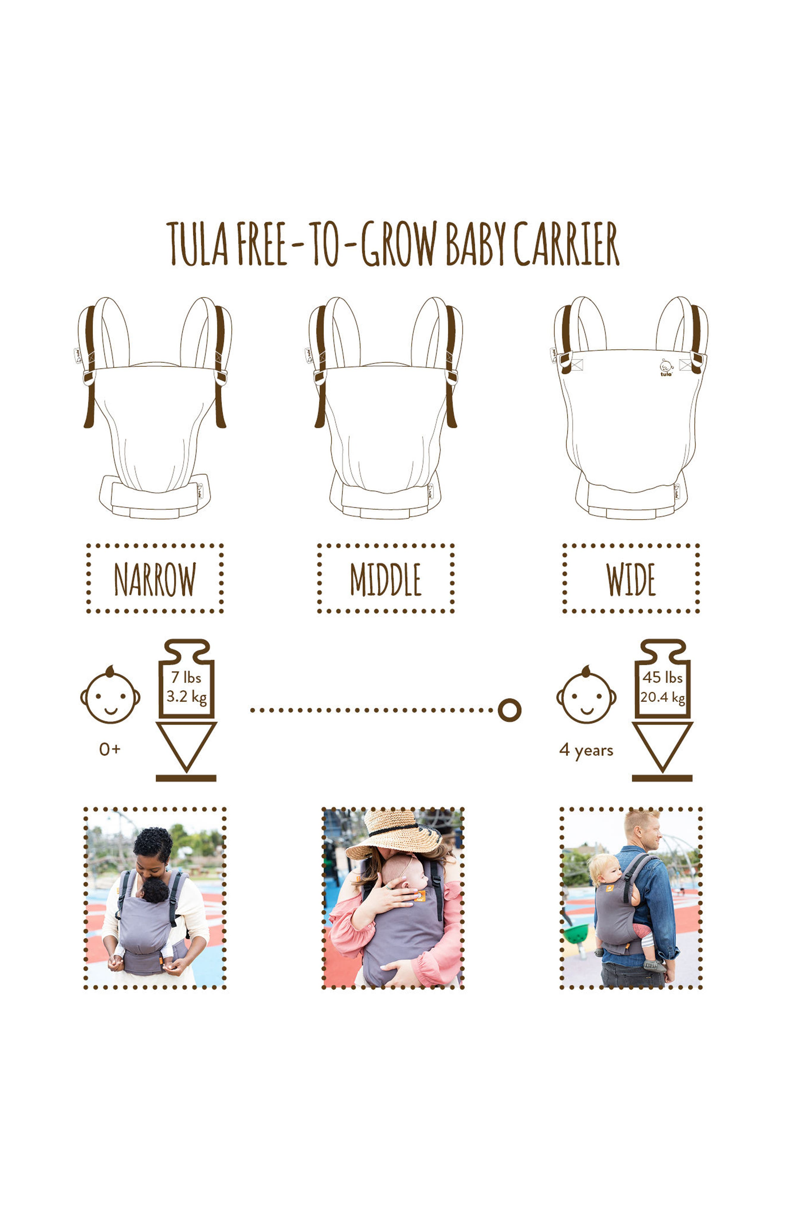 Alternate Image 7  - Baby Tula Blossom Free-to-Grow Baby Carrier