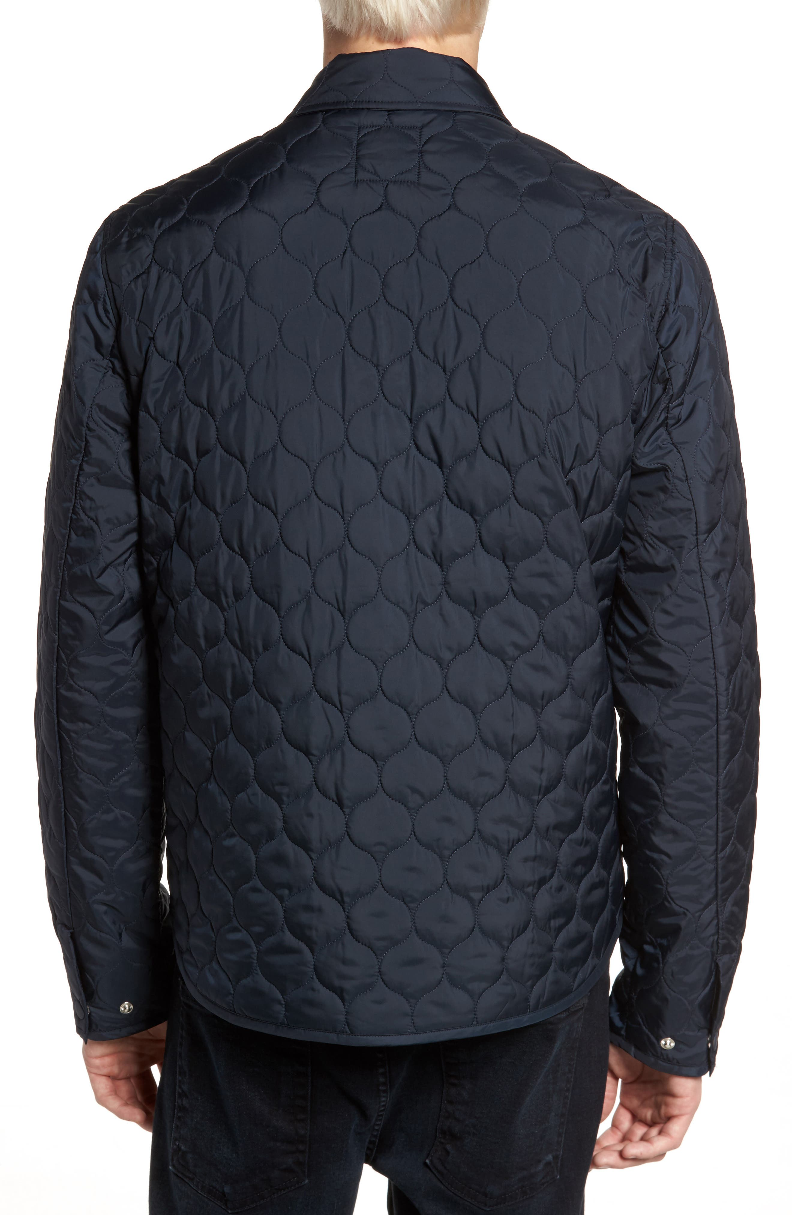 Lightweight Onion Quilted Jacket,                             Alternate thumbnail 2, color,                             Dark Sapphire