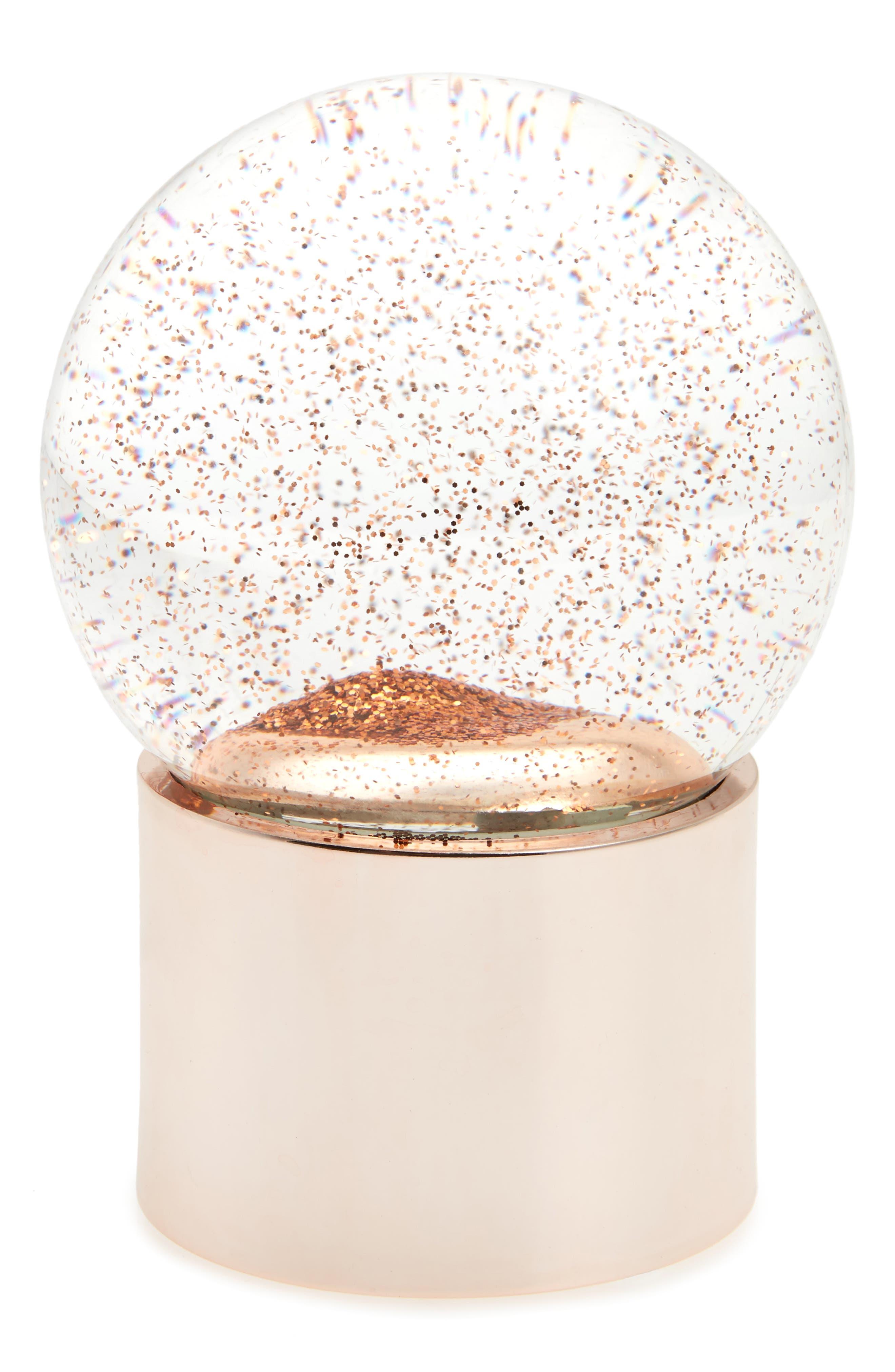 Alternate Image 1 Selected - Nordstrom at Home Glitter Snow Globe