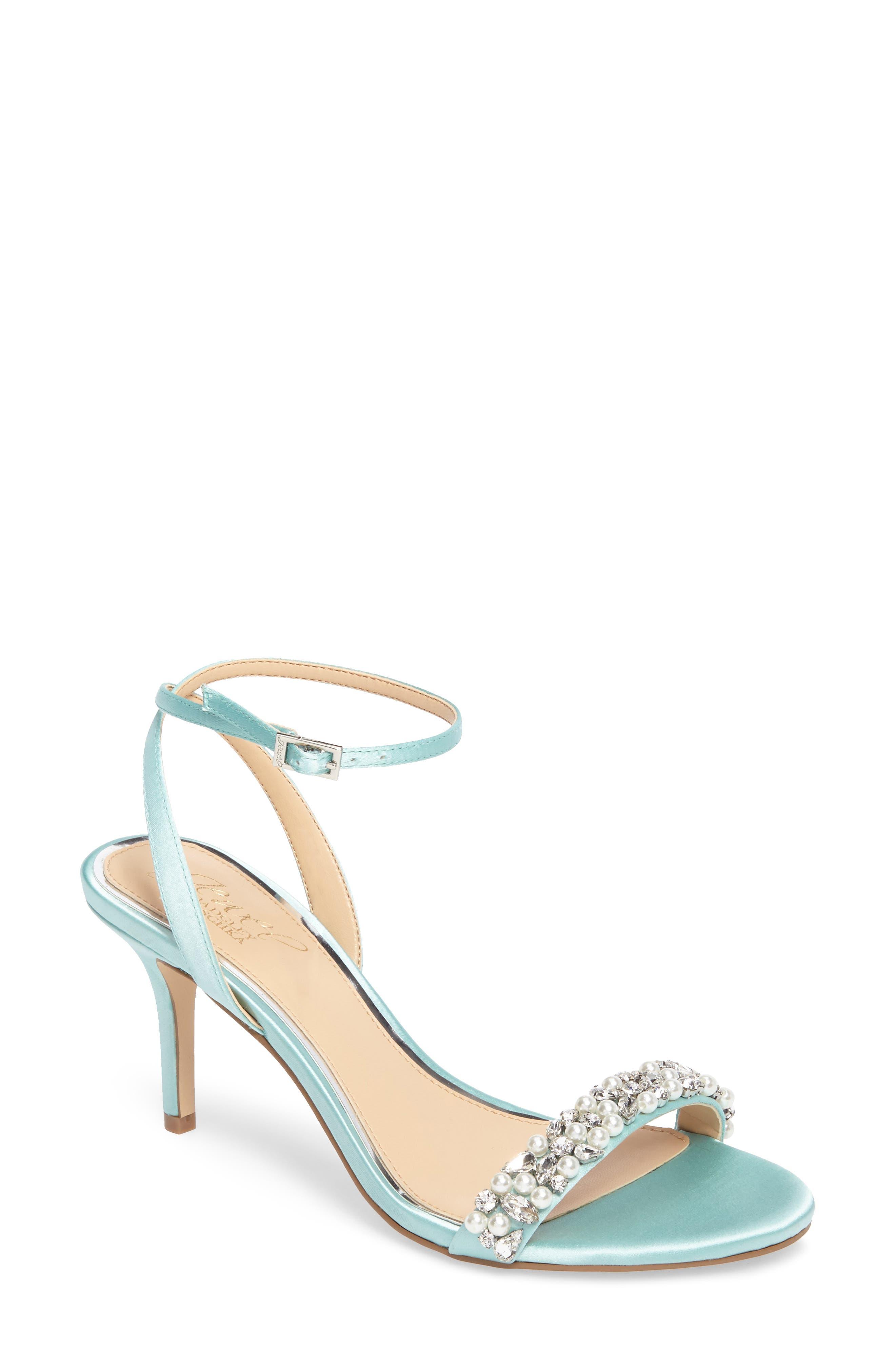 Jewel by Badgley Mischka Theodora Ankle Strap Sandal (Women)