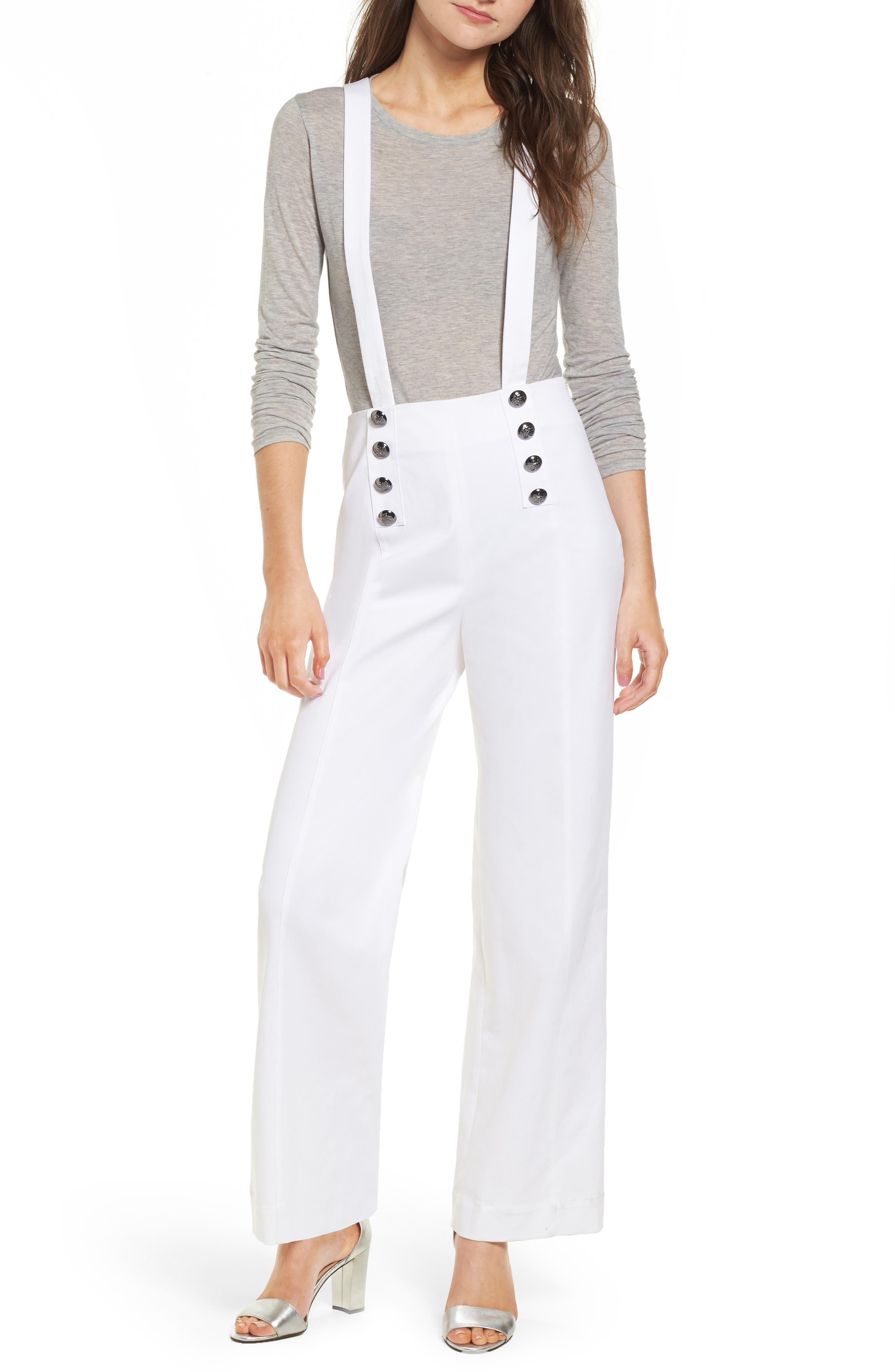 Avery Wide Leg Pants,                         Main,                         color, Off White
