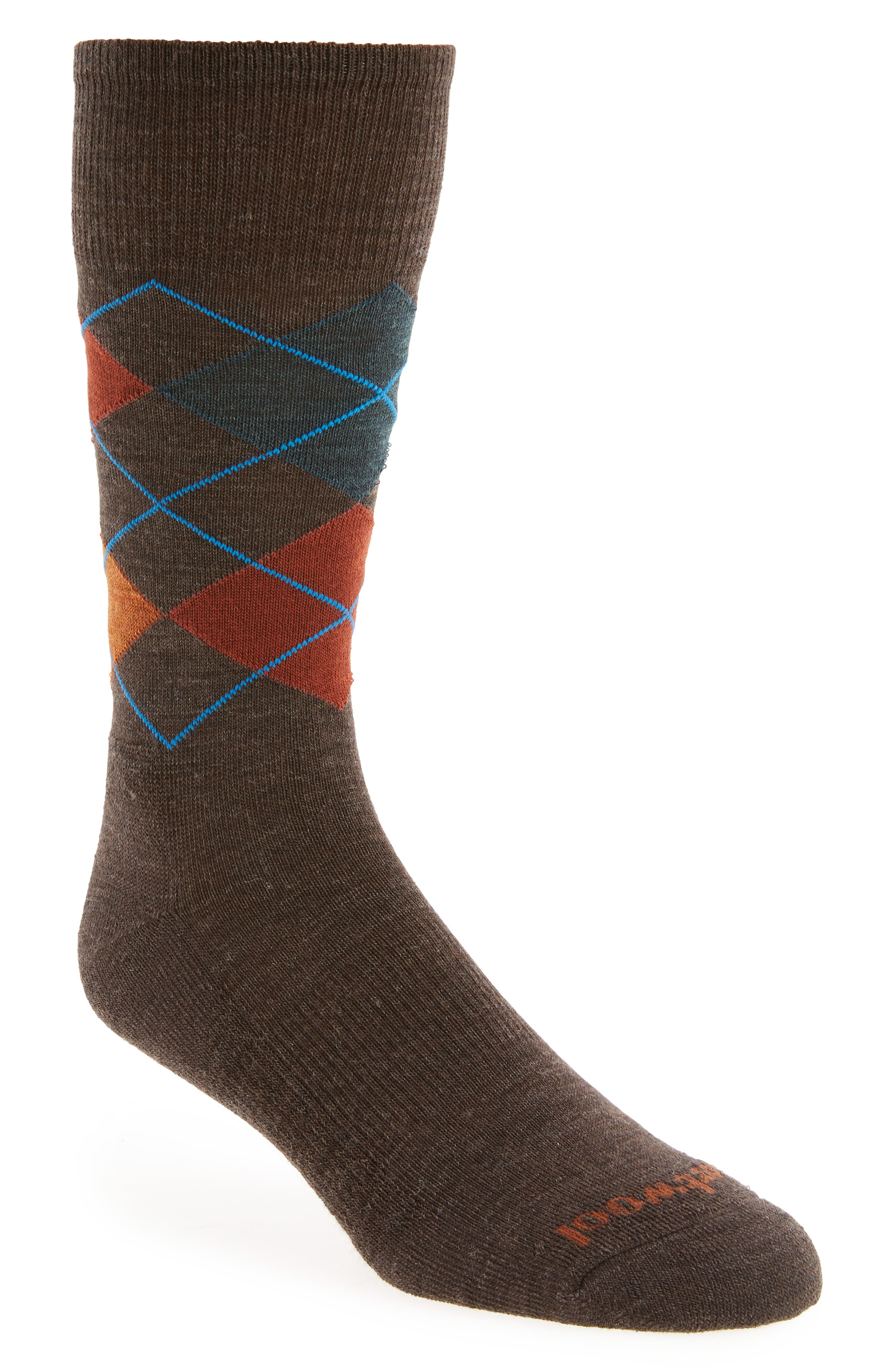 Smartwool Diamond Jim Argyle Wool Blend Socks