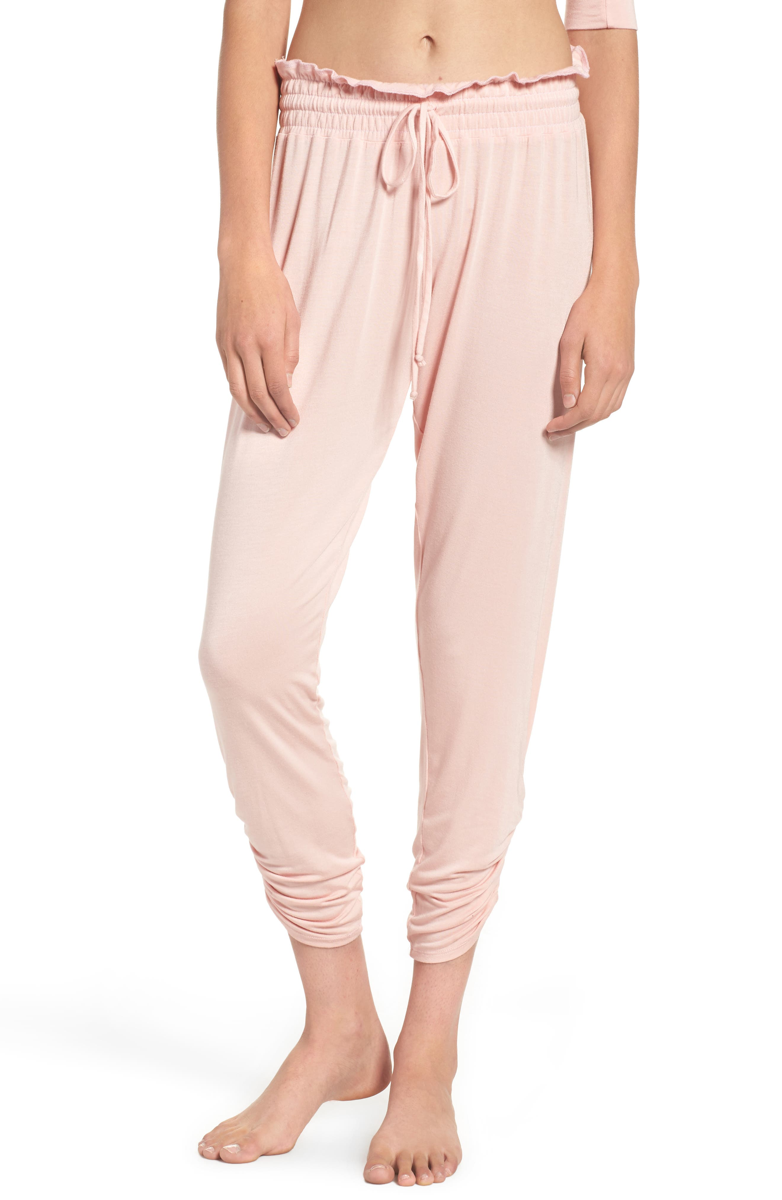 Bella Pants,                             Main thumbnail 1, color,                             Dream Pink