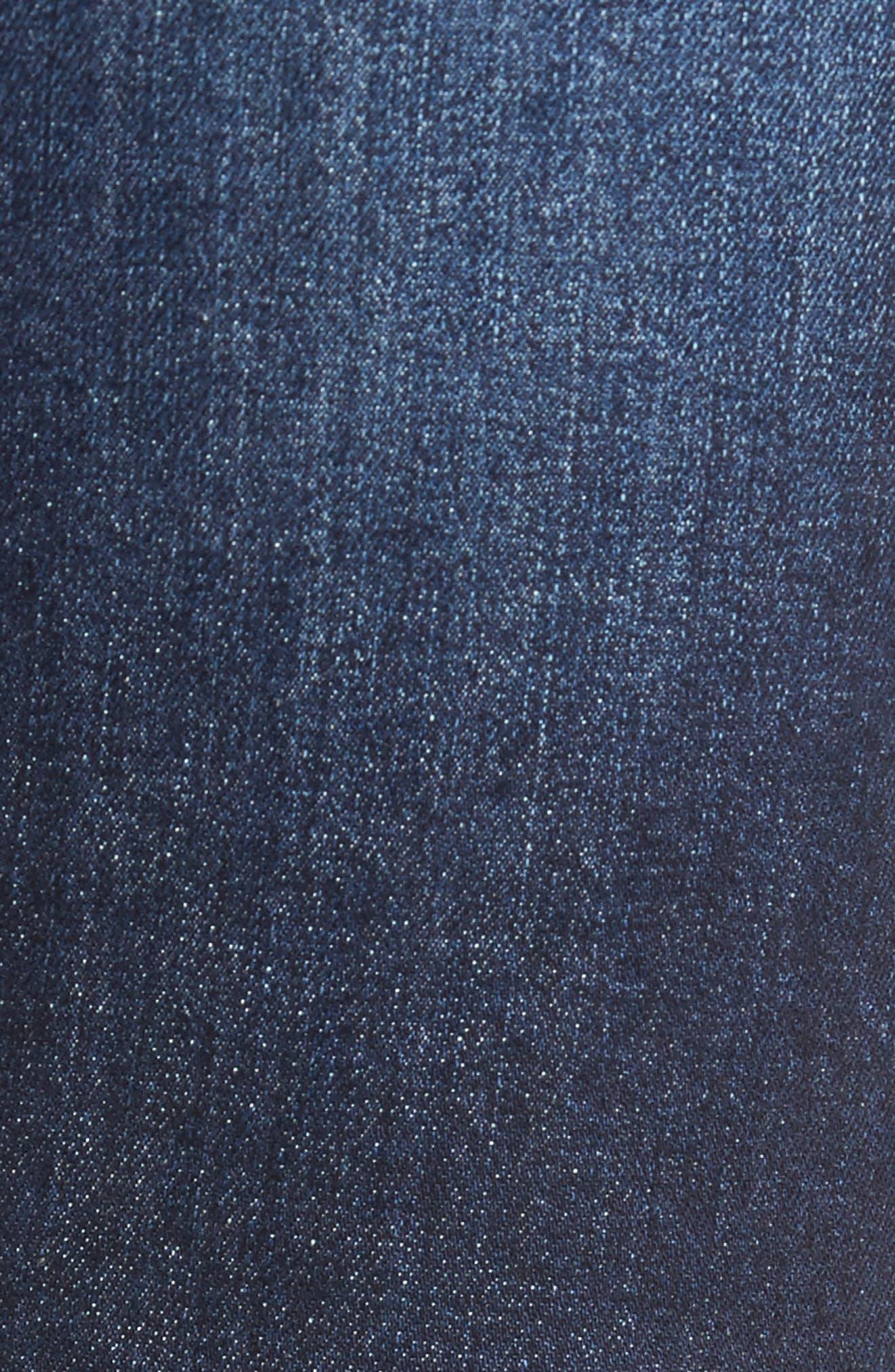 Windsor Slim Fit Jeans,                             Alternate thumbnail 5, color,                             Dark Blue