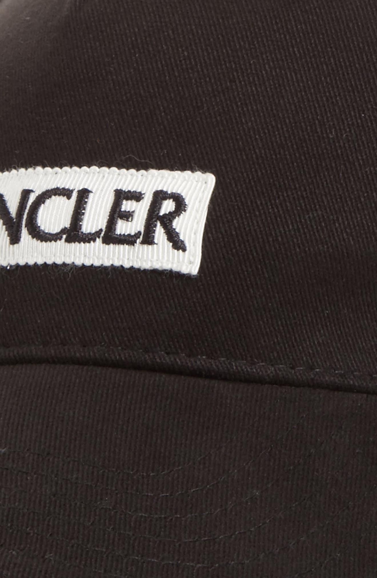Alternate Image 3  - Moncler Logo Baseball Cap