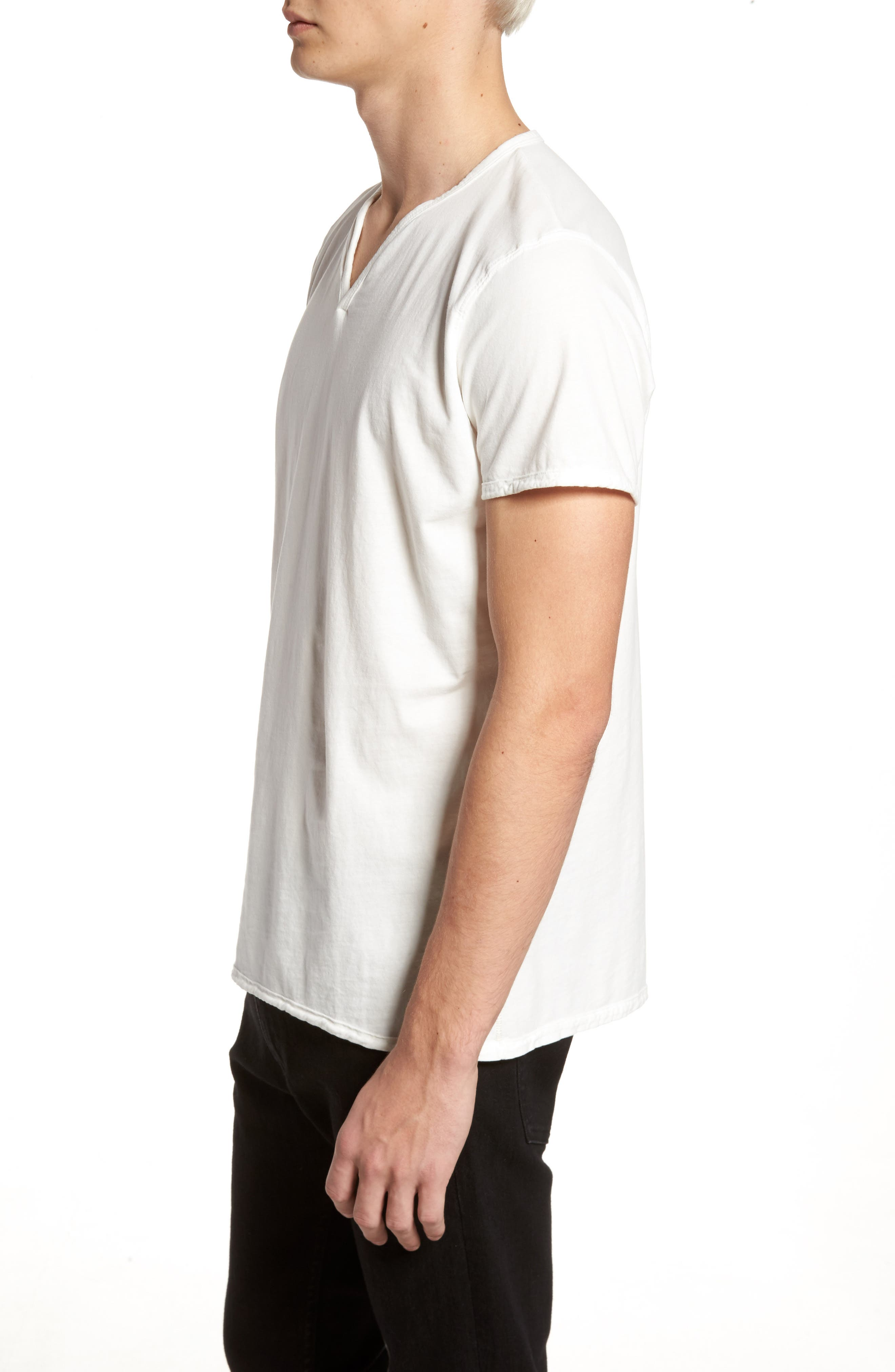 Alternate Image 3  - Vestige Notch Henley T-Shirt