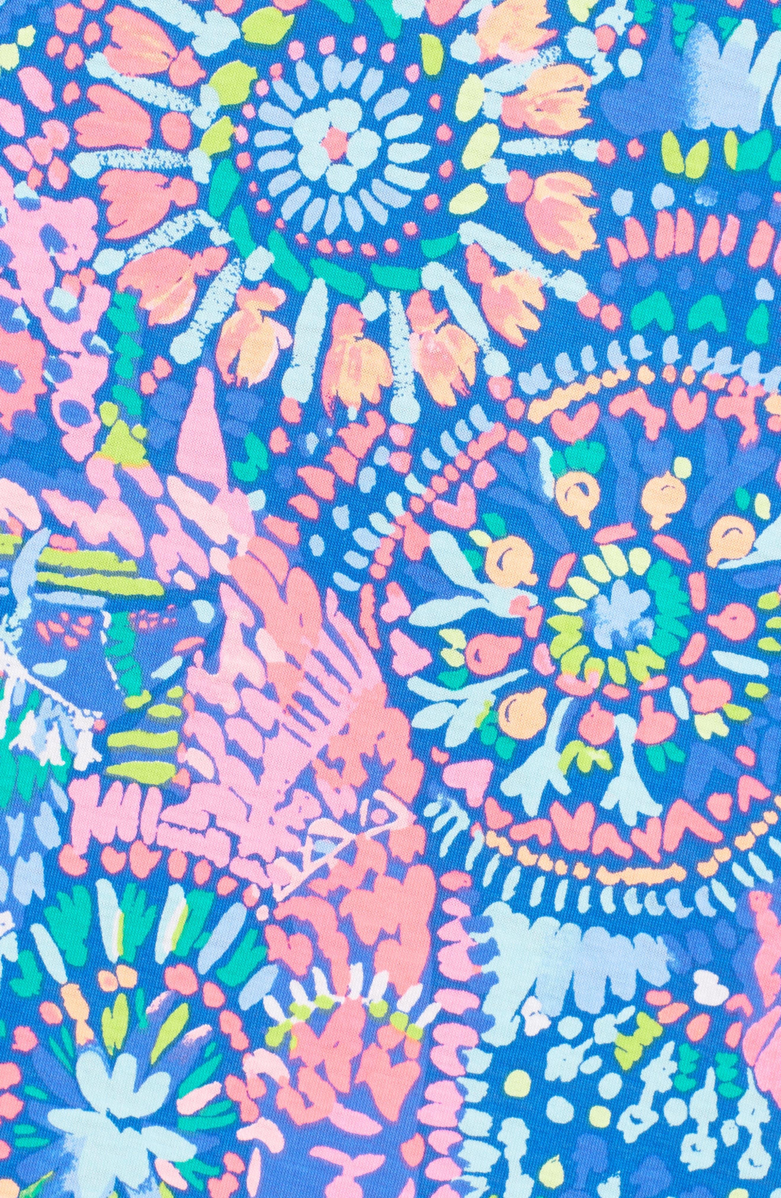 Kerri Maxi Dress,                             Alternate thumbnail 5, color,                             Multi Llama