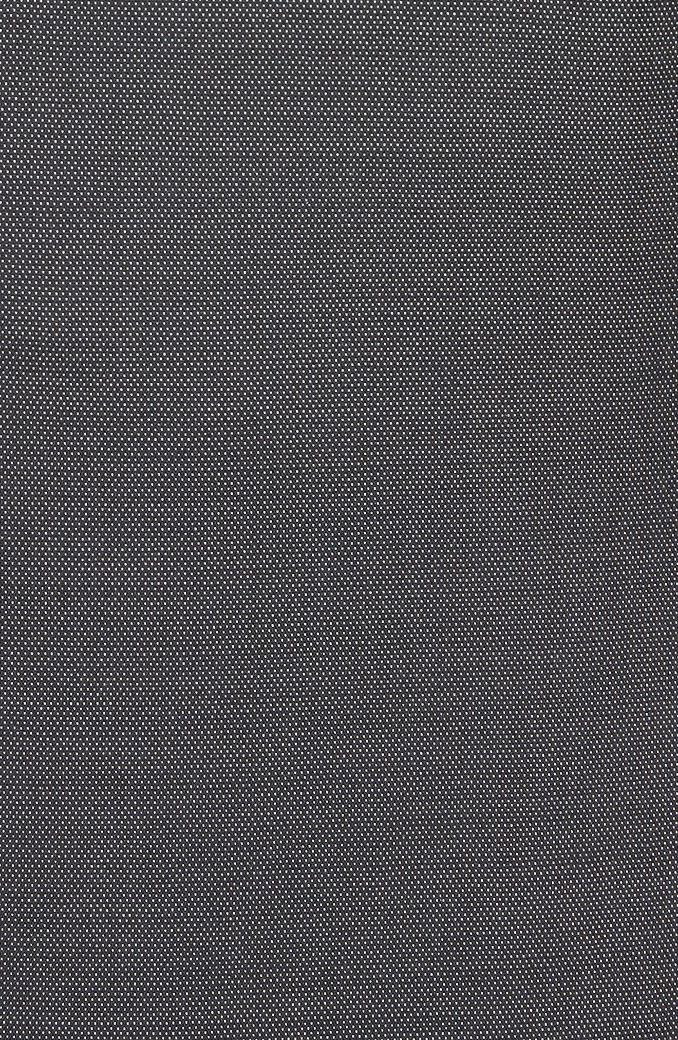 G Line Trim Fit Solid Wool & Silk Suit,                             Alternate thumbnail 7, color,                             Grey