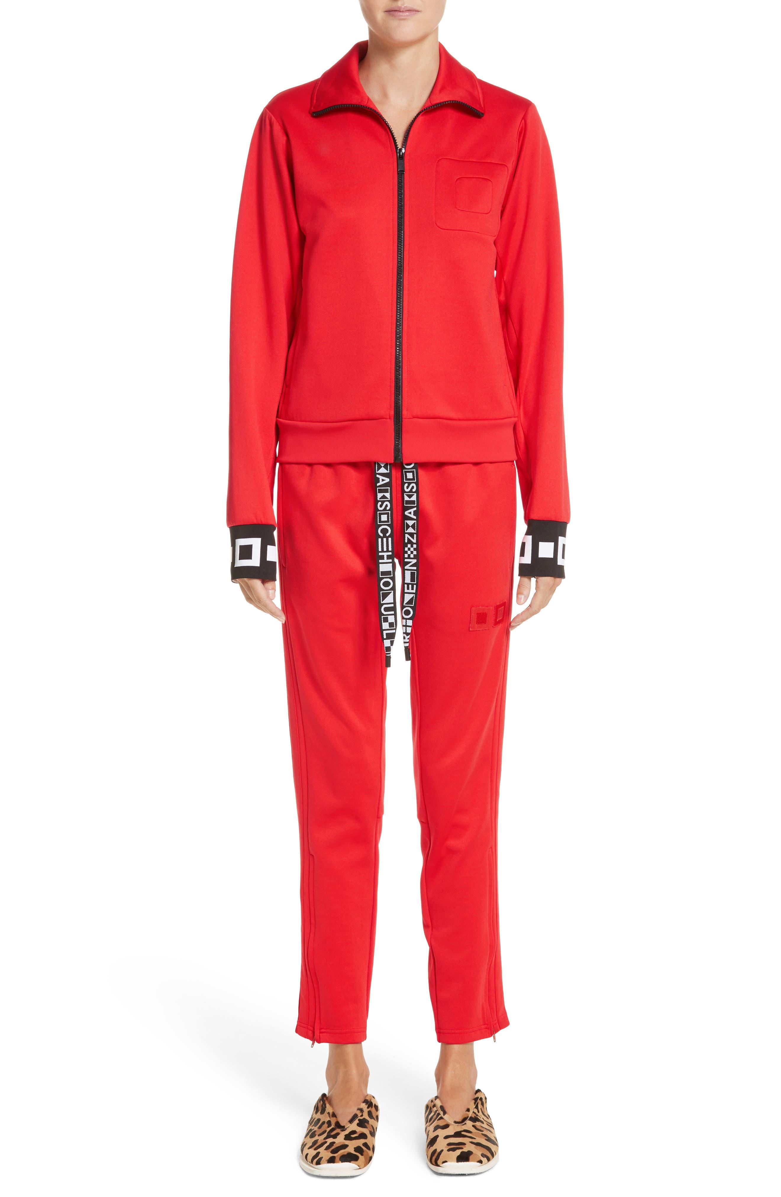 Alternate Image 6  - Proenza Schouler PSWL Jersey Track Jacket