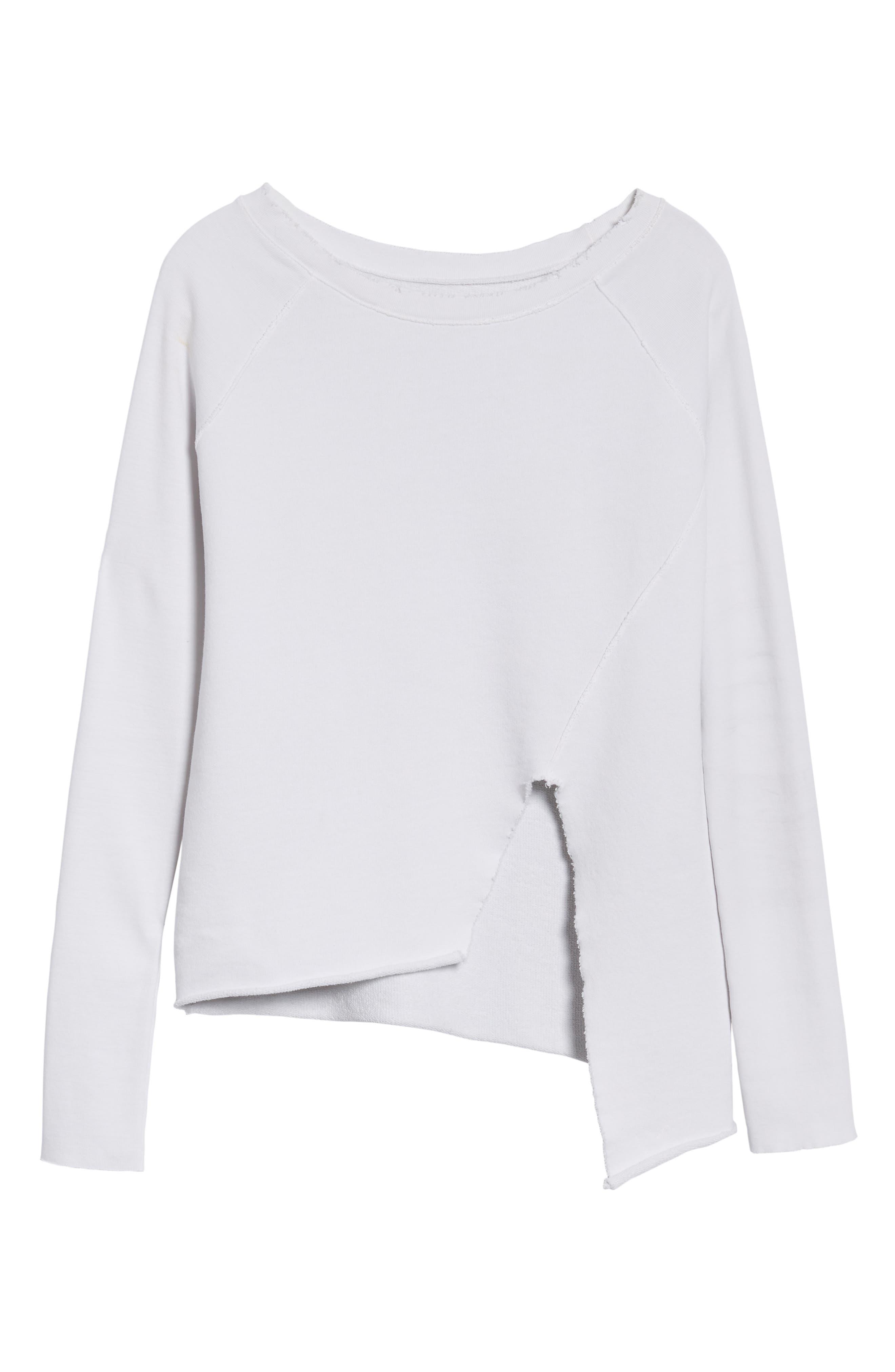 Alternate Image 7  - Frank & Eileen Tee Lab Asymmetrical Sweatshirt