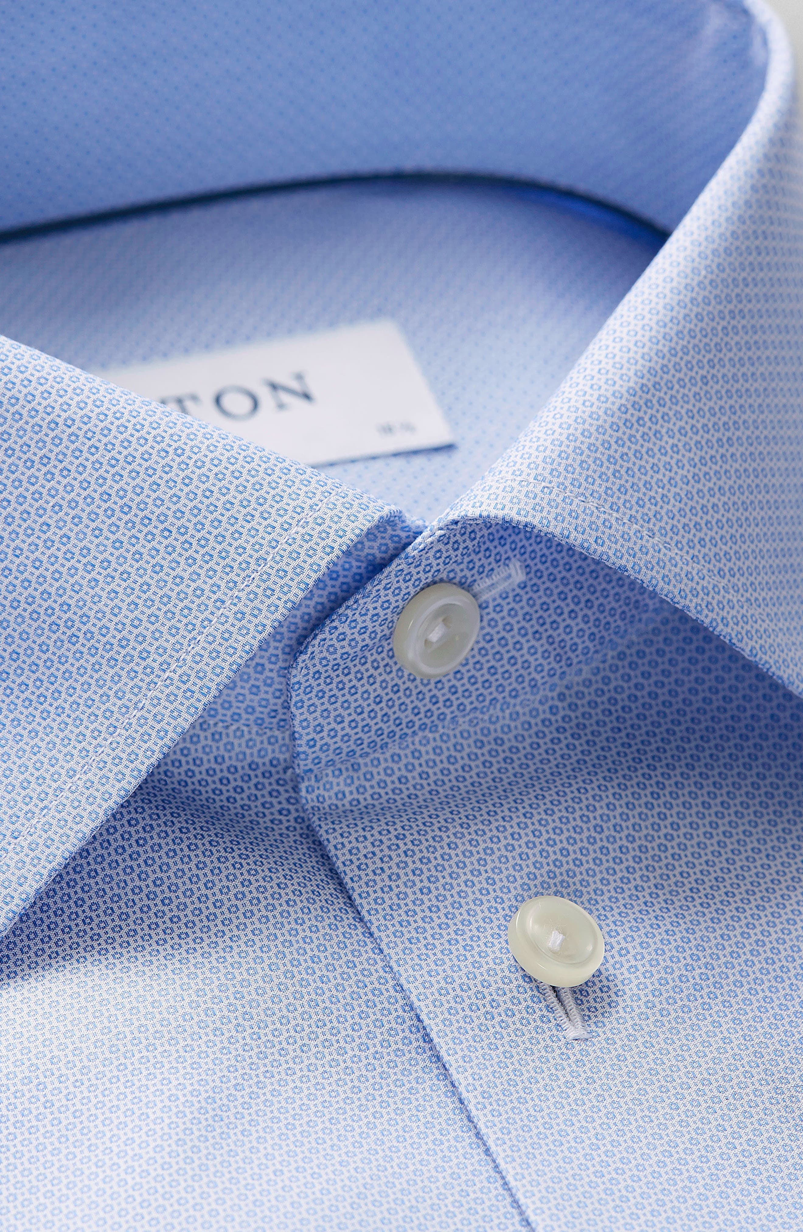 Alternate Image 2  - Eton Contemporary Fit Textured Solid Dress Shirt