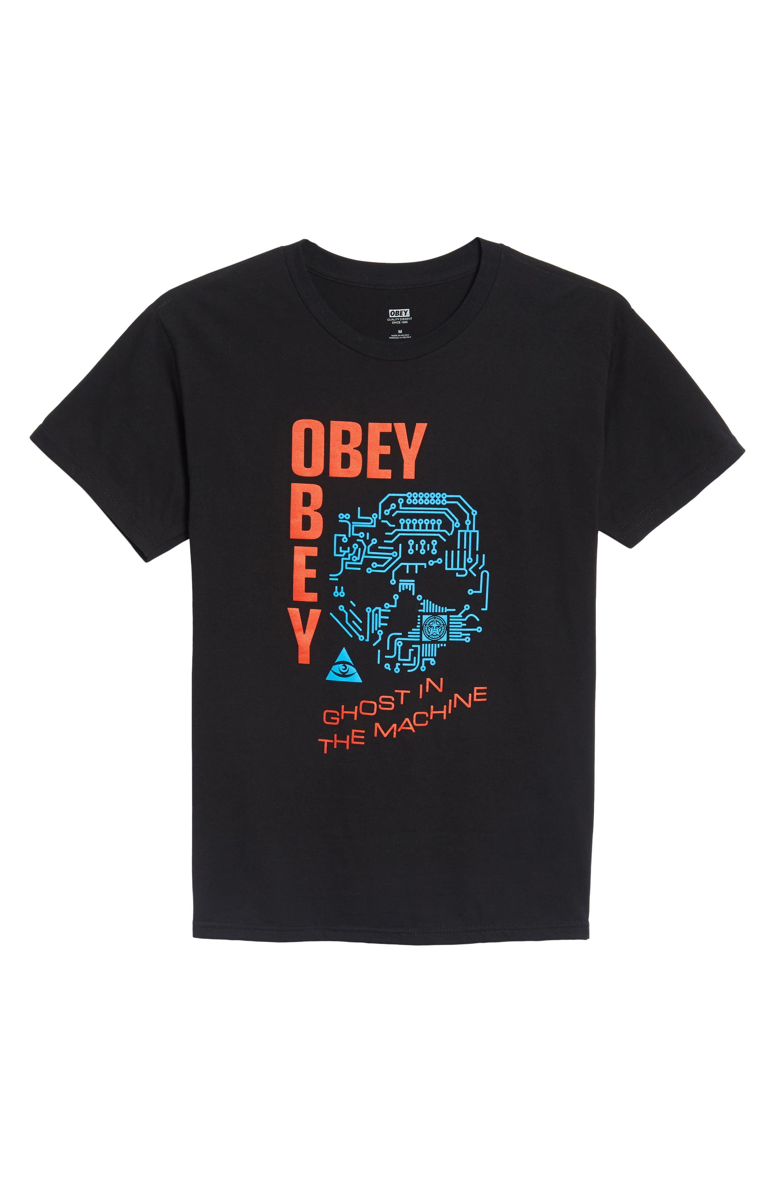 Alternate Image 6  - Obey Ghosts in the Machine Premium Graphic T-Shirt