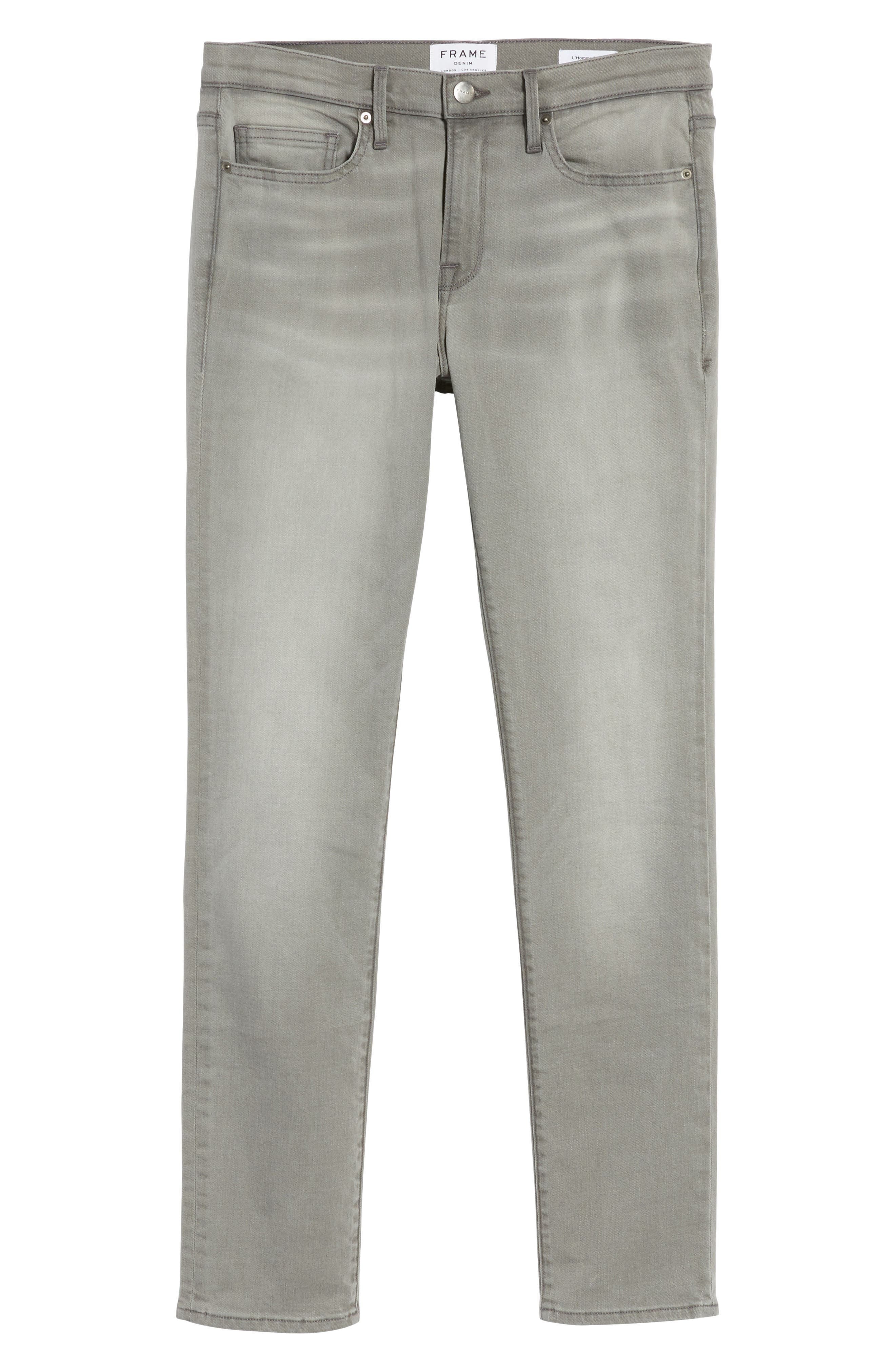 Alternate Image 6  - FRAME L'Homme Slim Fit Jeans (Vineway)