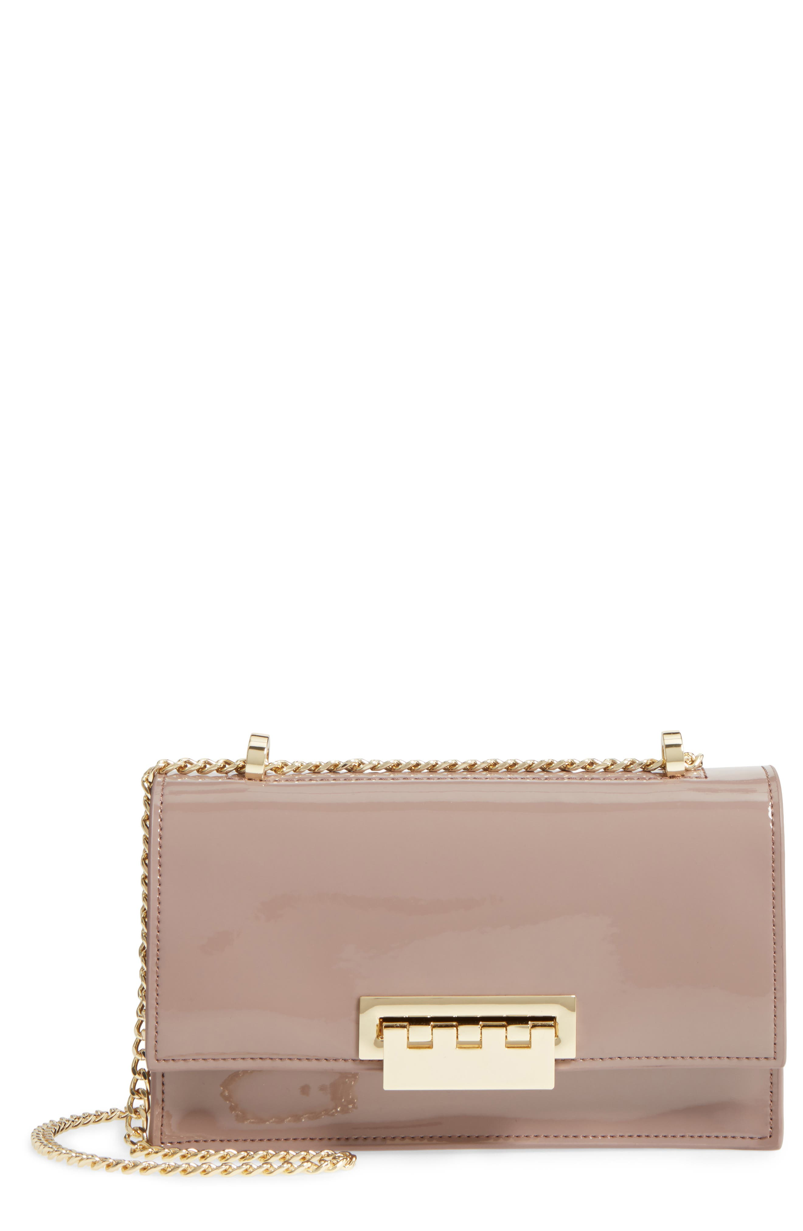 ZAC Zac Posen Earthette Calfskin Shoulder Bag