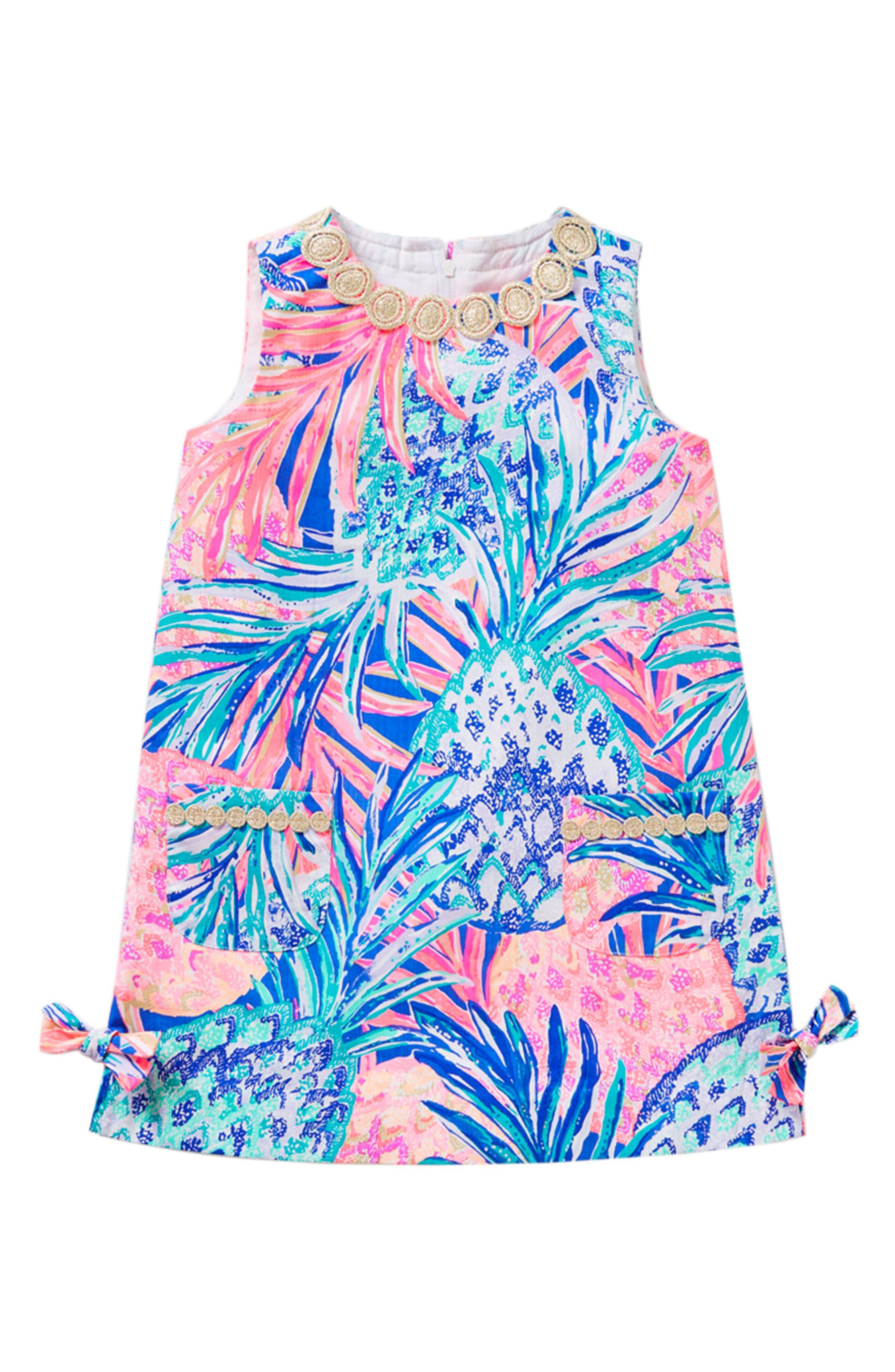Little Lilly Shift Dress,                         Main,                         color, Multi Gypset Paradise