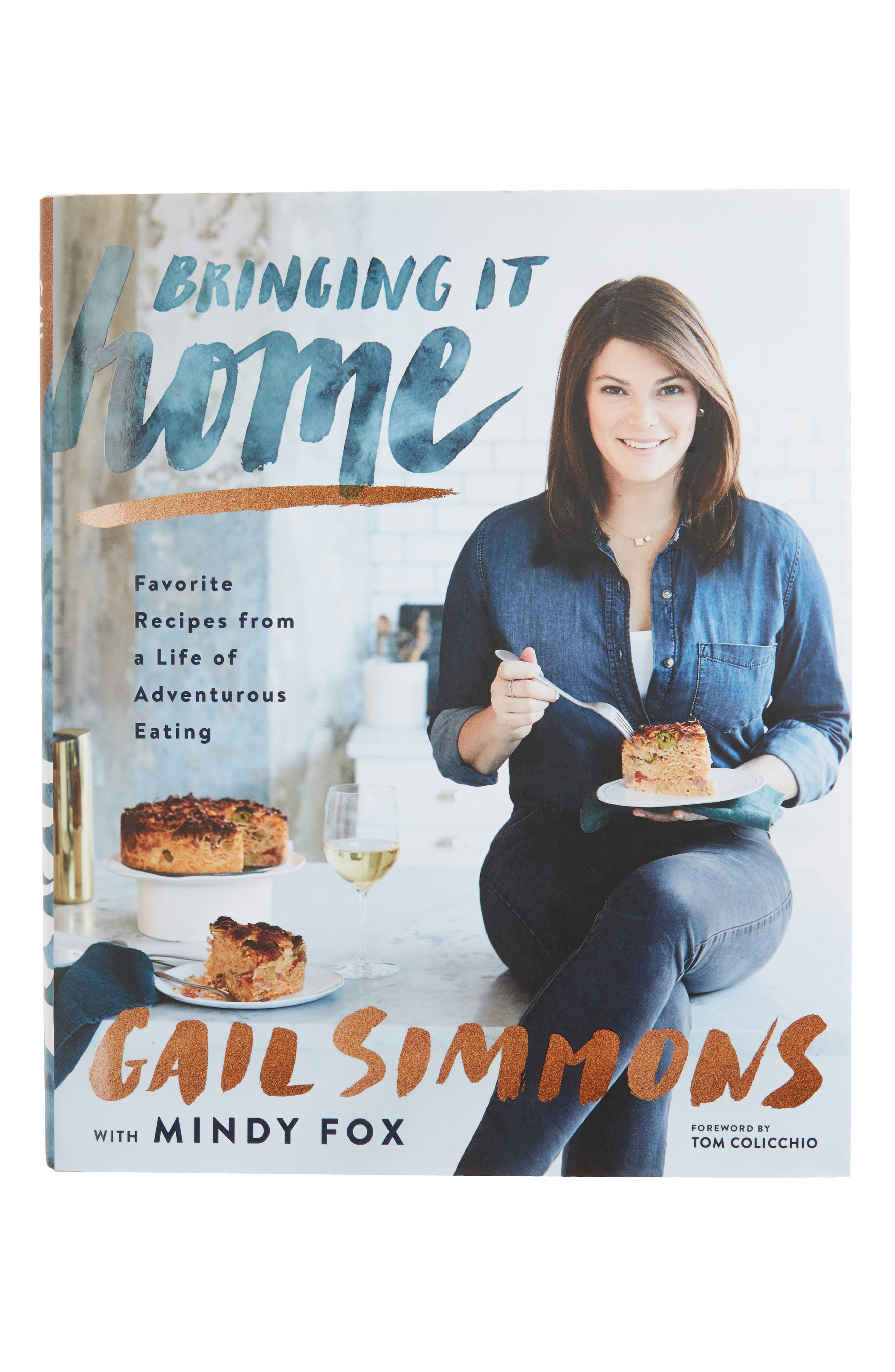 Bringing it Home: Favorite Recipes from a Life of Adventurous Eating,                         Main,                         color, Blue