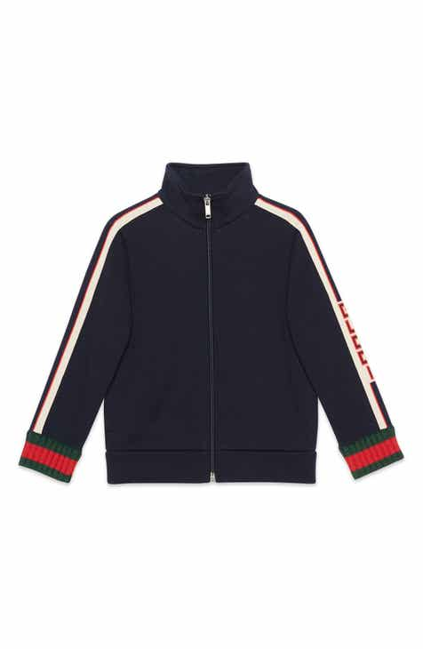 Gucci Logo Track Jacket (Little Boys & Big Boys)
