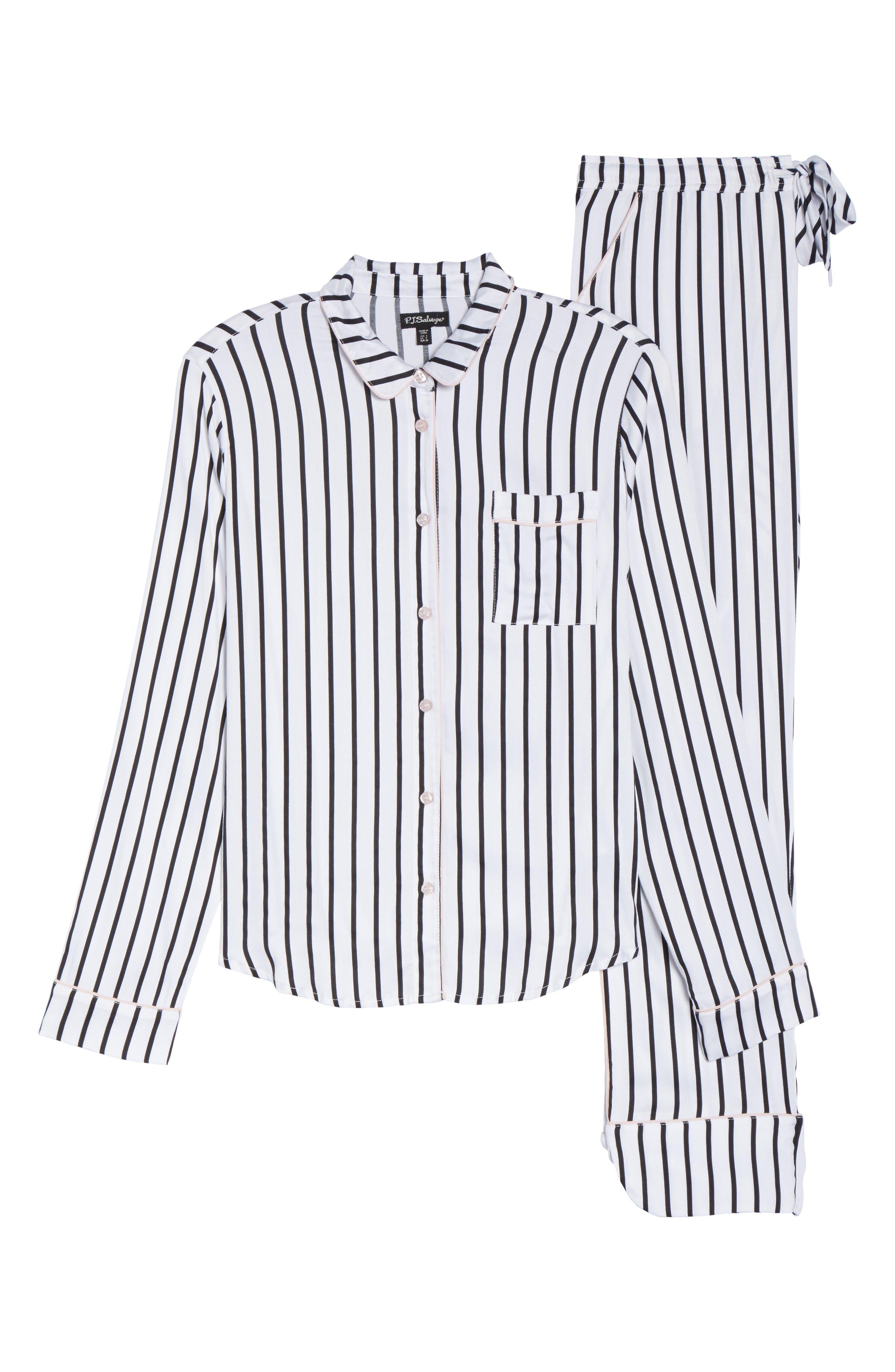 Jersey Pajamas,                             Alternate thumbnail 4, color,                             Ivory