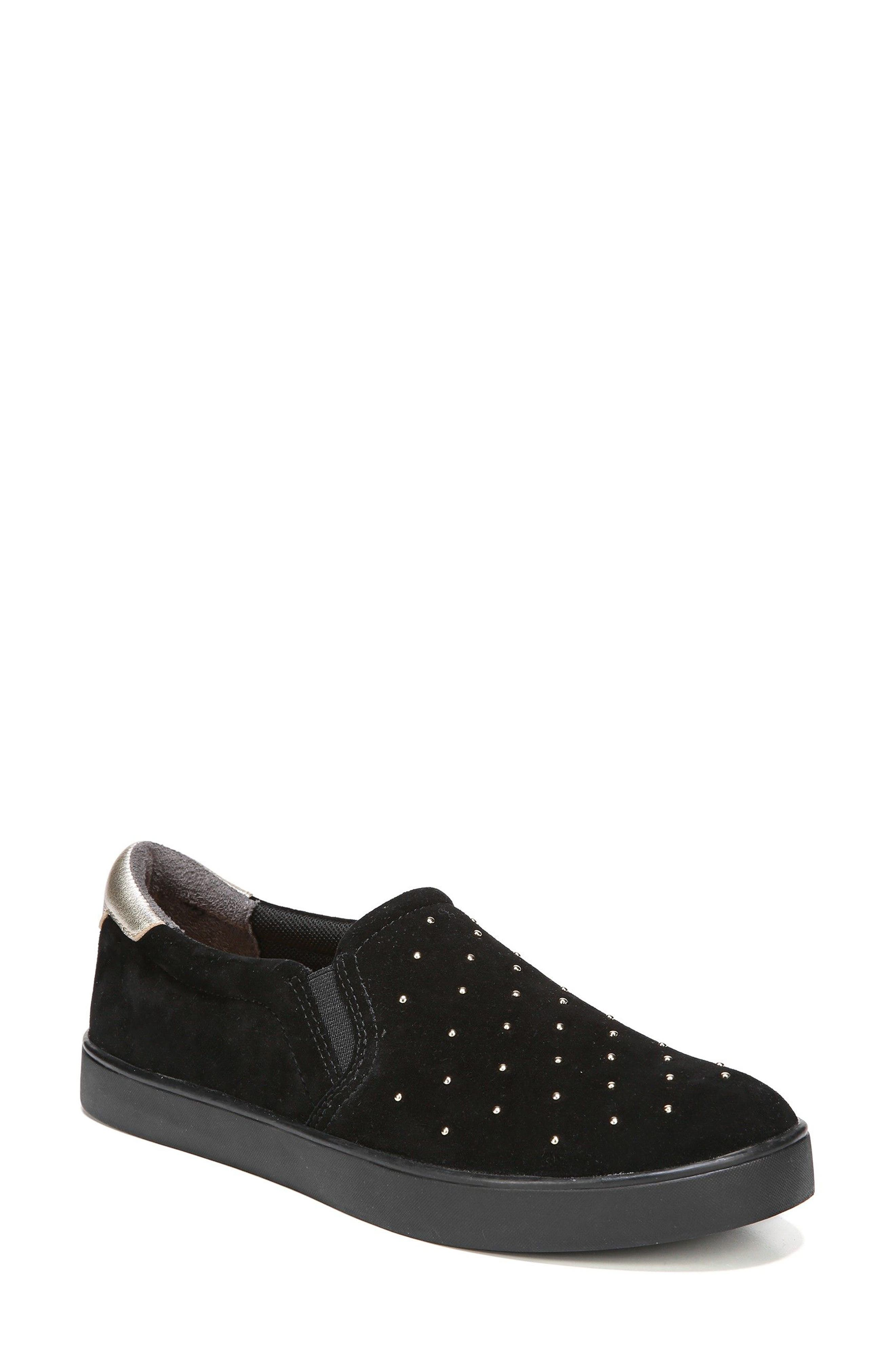 Original Collection 'Scout' Slip On Sneaker,                         Main,                         color, Black Suede
