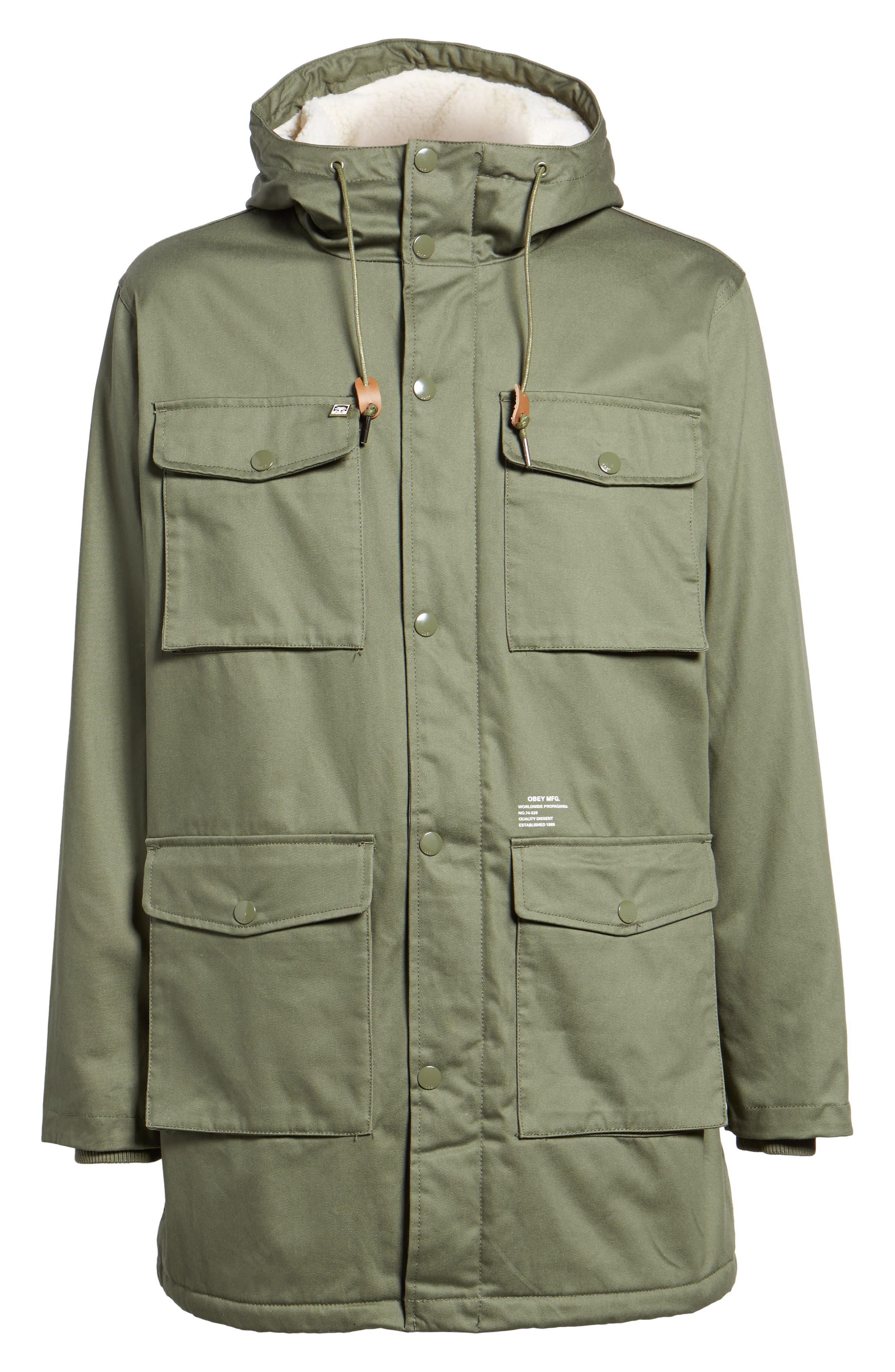Heller II Jacket,                             Alternate thumbnail 6, color,                             Army