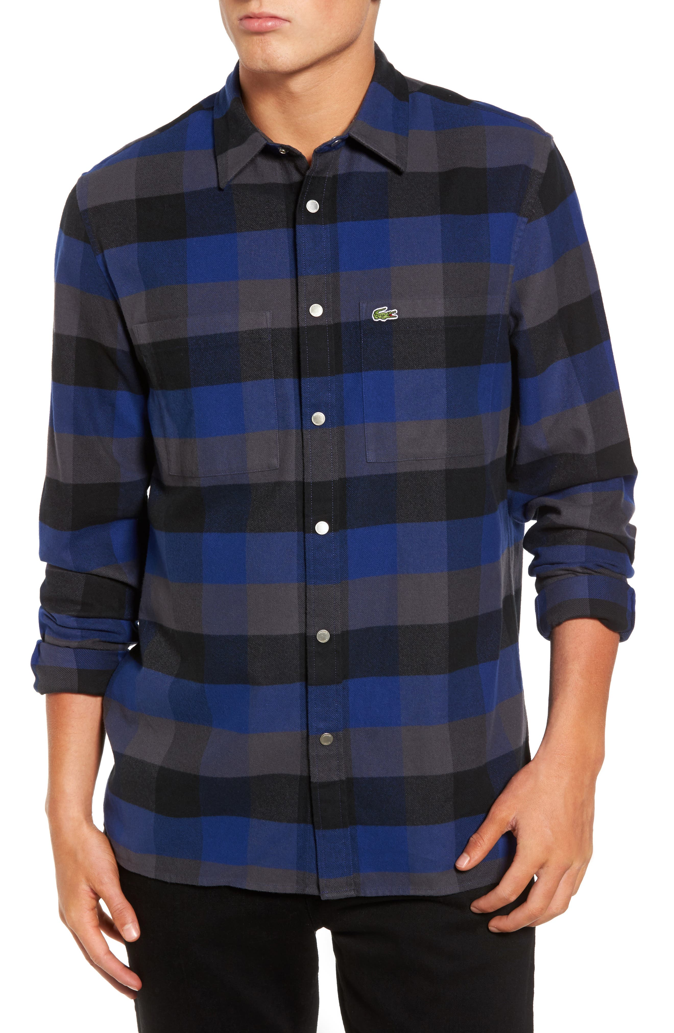 Lacoste Check Flannel Shirt