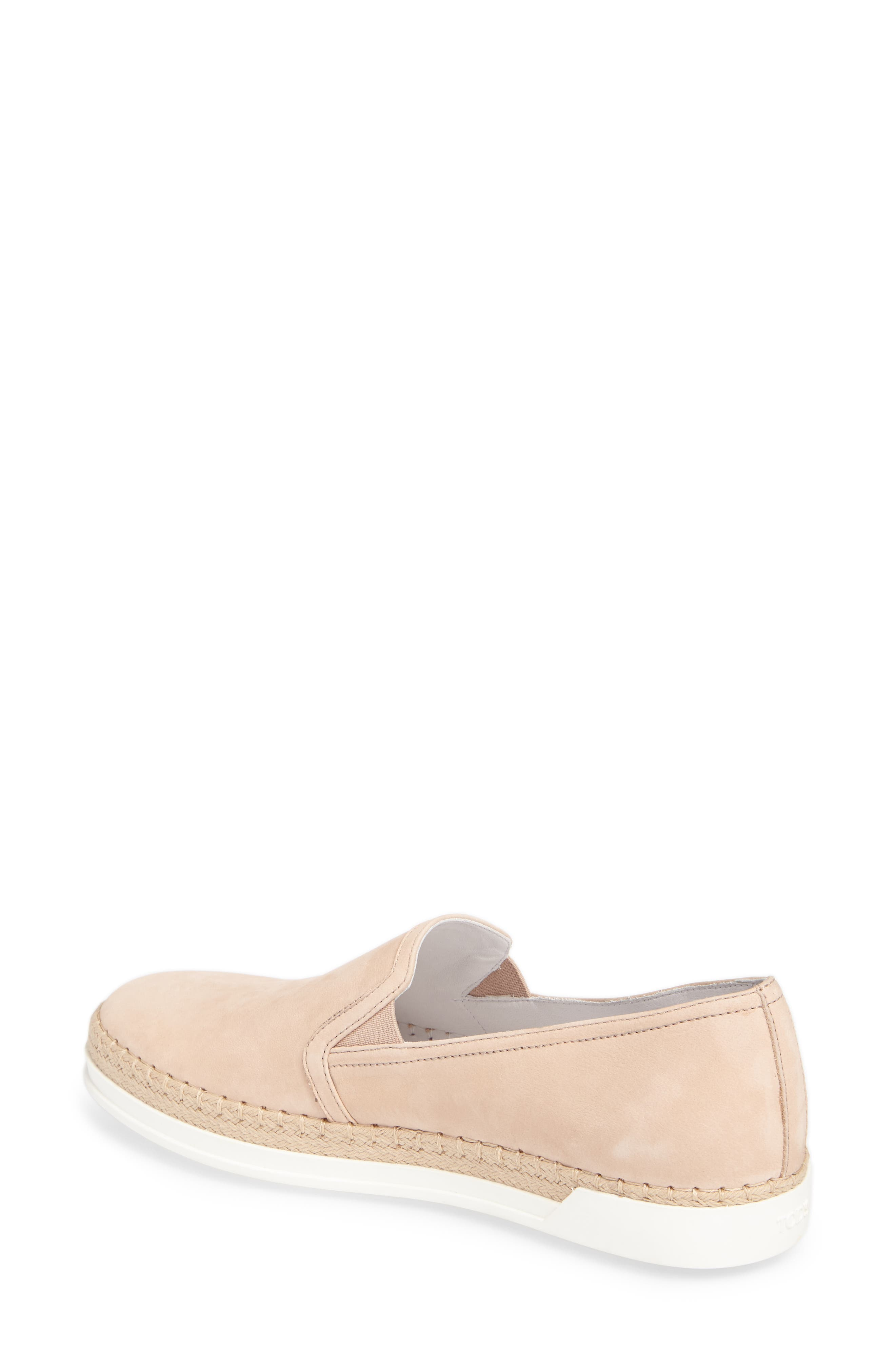 Espadrille Slip-On Sneaker,                             Alternate thumbnail 2, color,                             Ballerina Pink