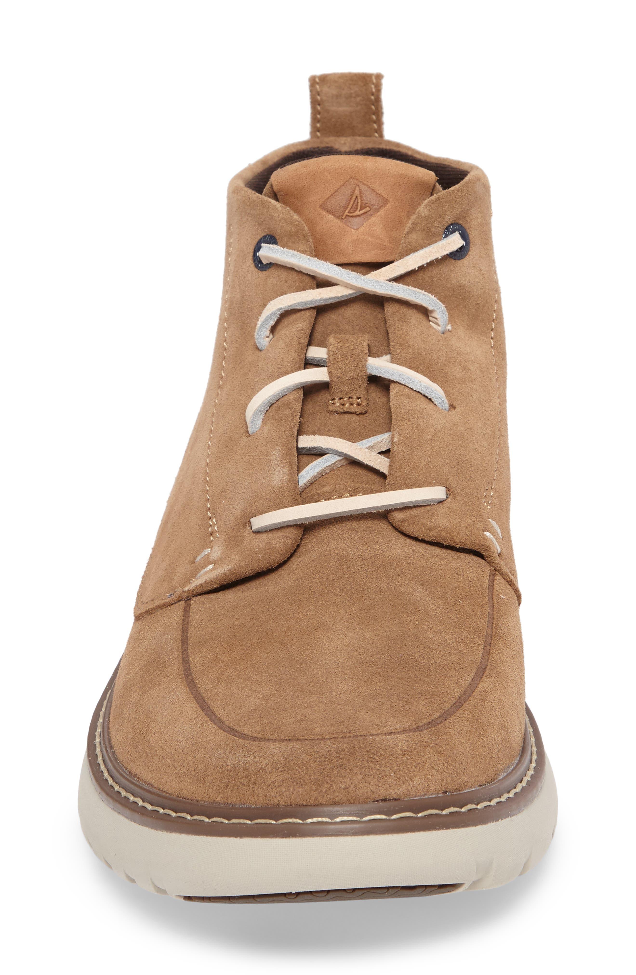 Element Chukka Boot,                             Alternate thumbnail 4, color,                             Caramel Leather