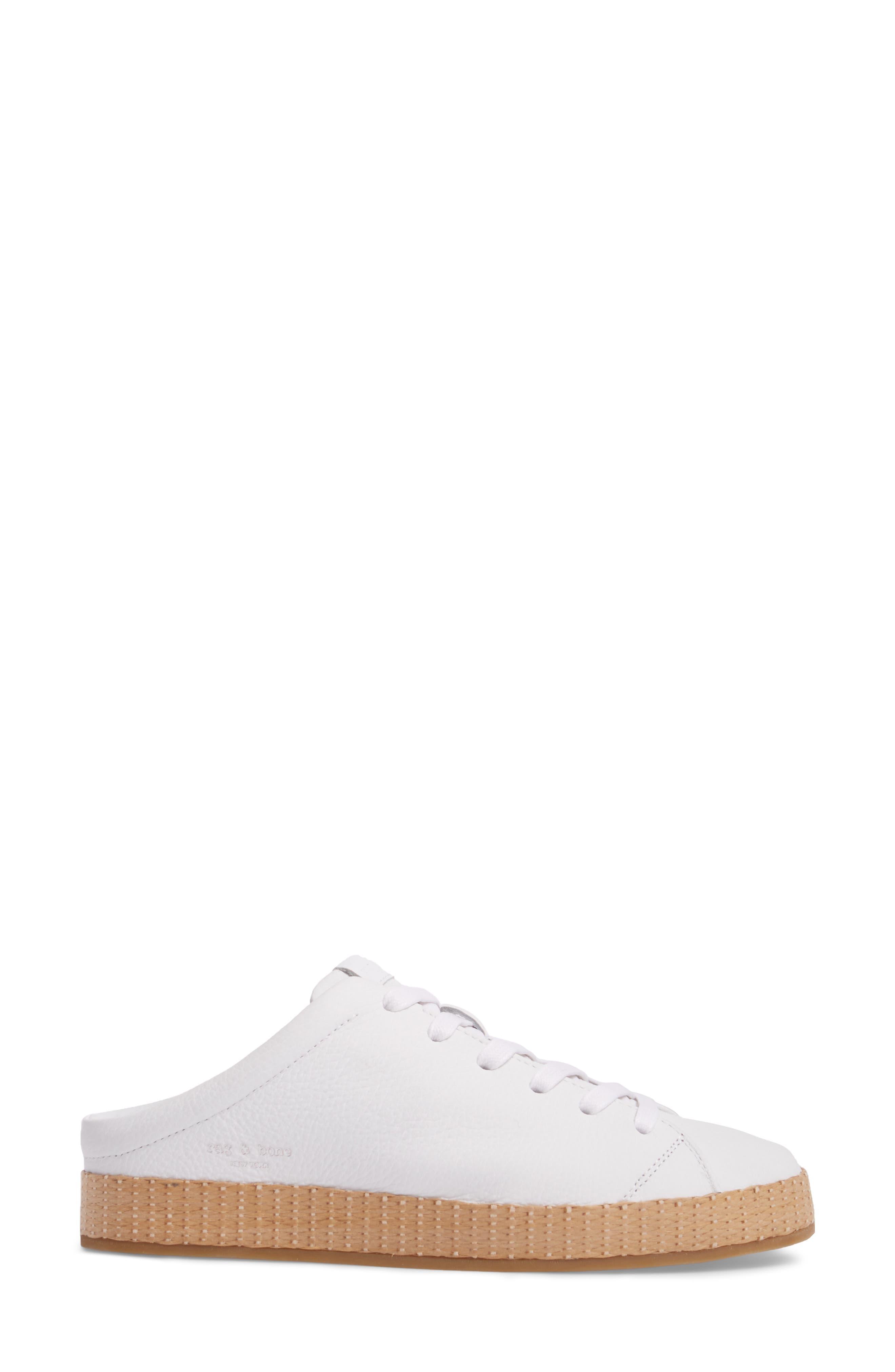RB1 Slip-On Sneaker,                             Alternate thumbnail 3, color,                             White