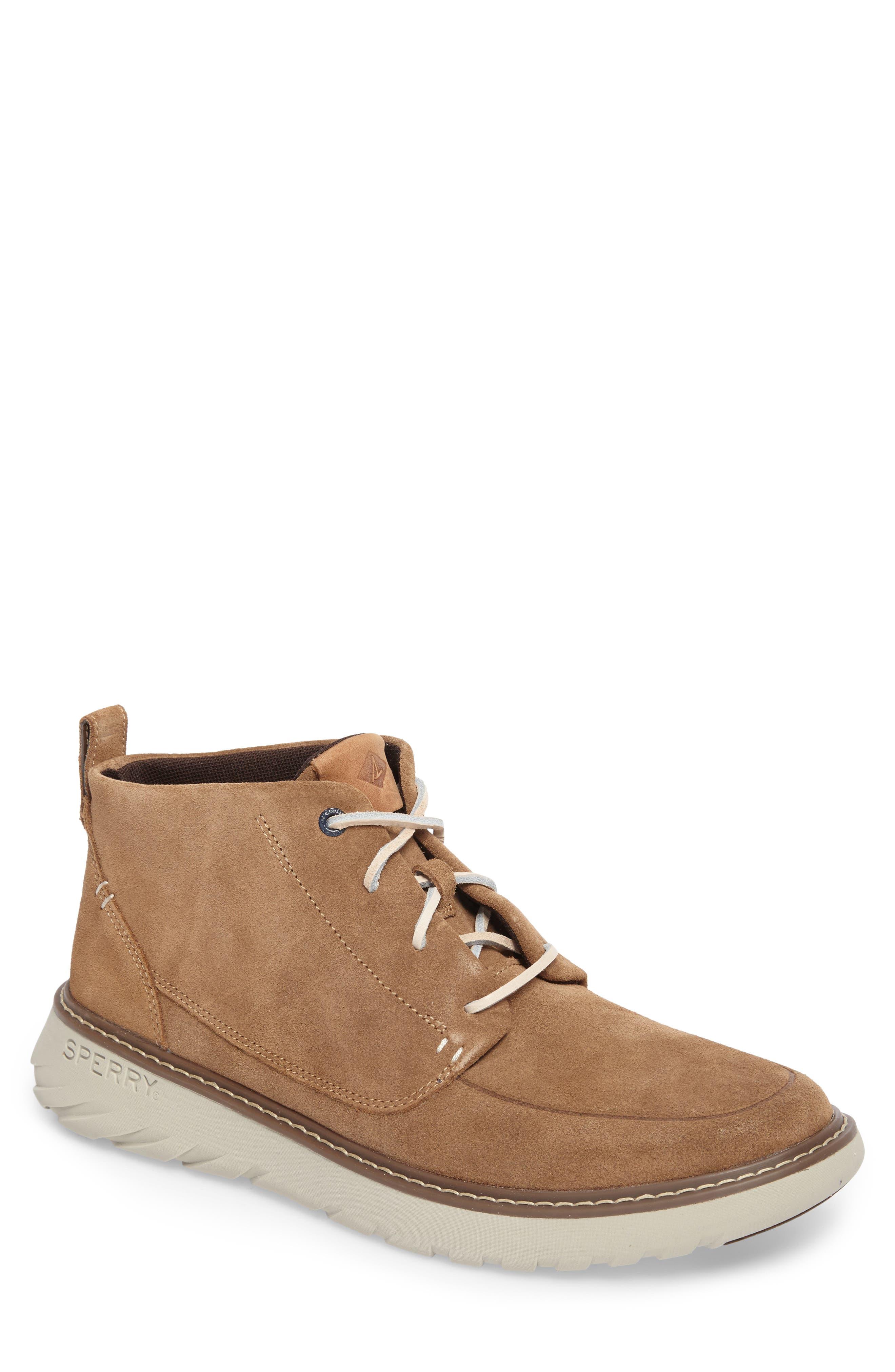 Element Chukka Boot,                         Main,                         color, Caramel Leather