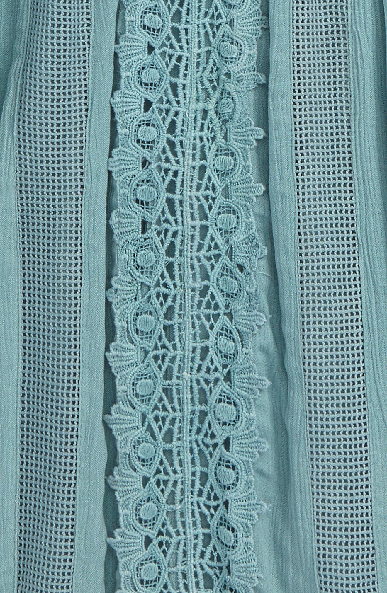 Alternate Image 2  - O'Neill Kayla Crochet Cover-Up Dress (Big Girls)