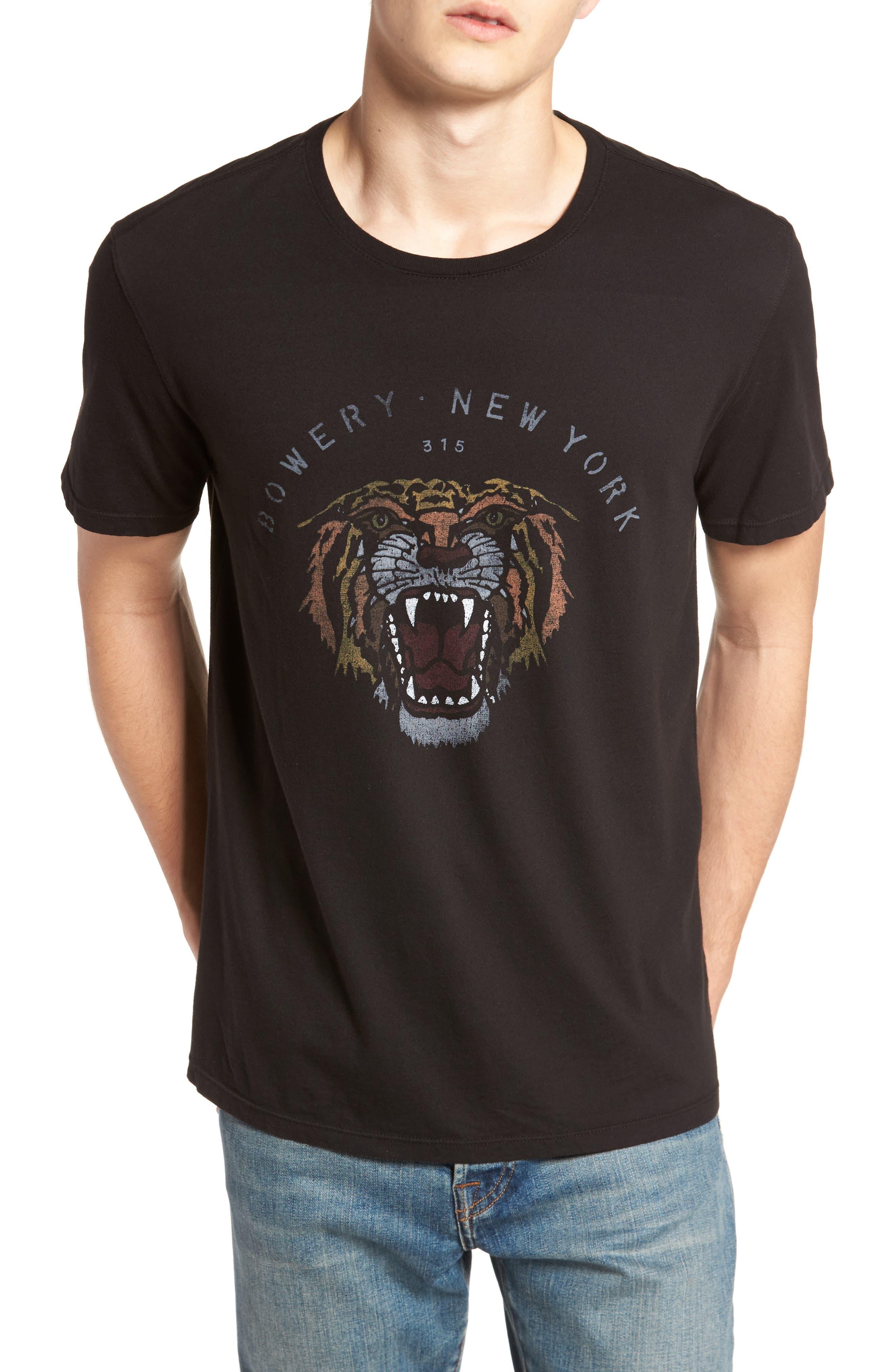 Main Image - John Varvatos Star USA Bowery Tiger Graphic T-Shirt