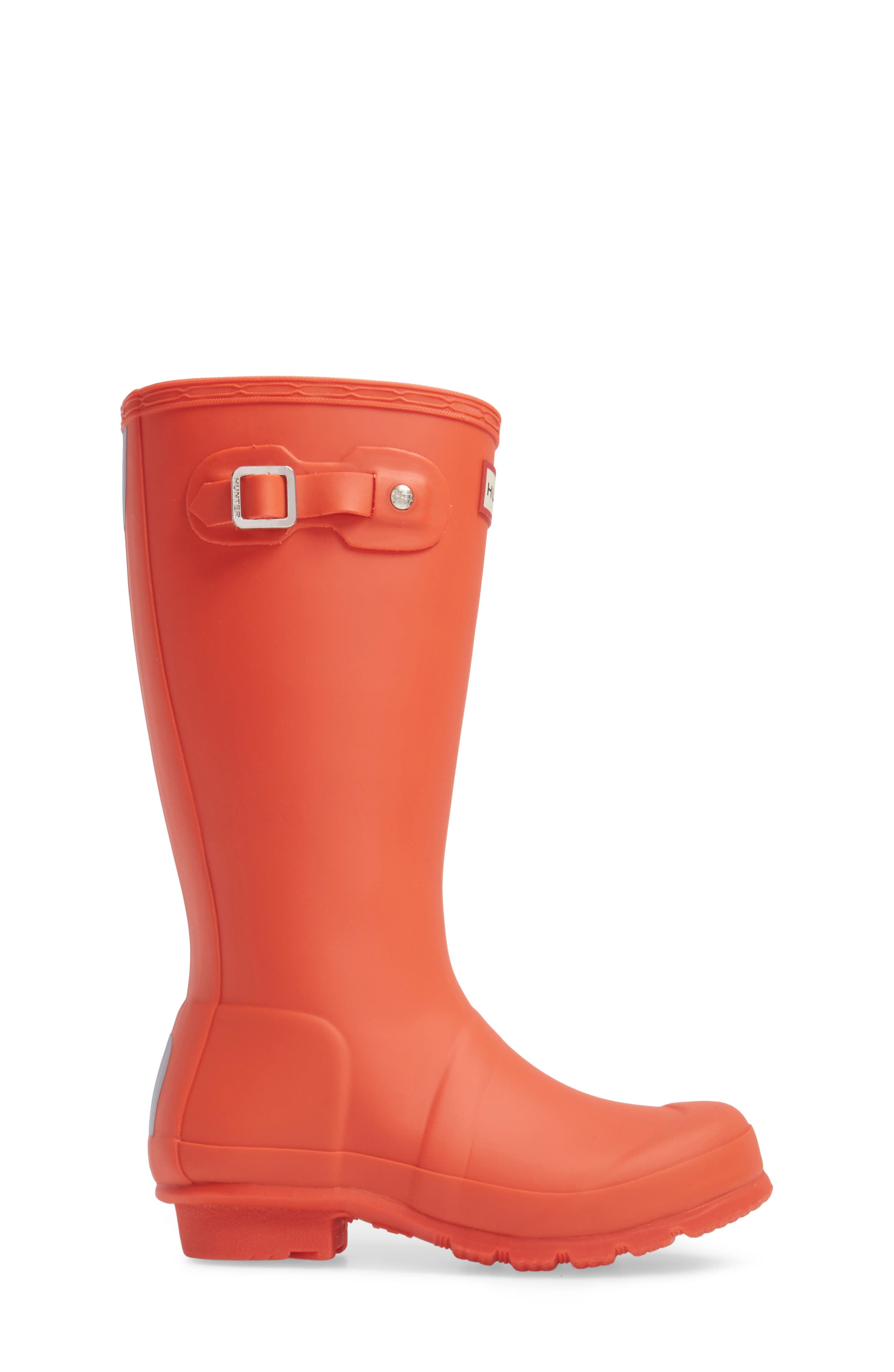 'Original' Rain Boot,                             Alternate thumbnail 3, color,                             Orange