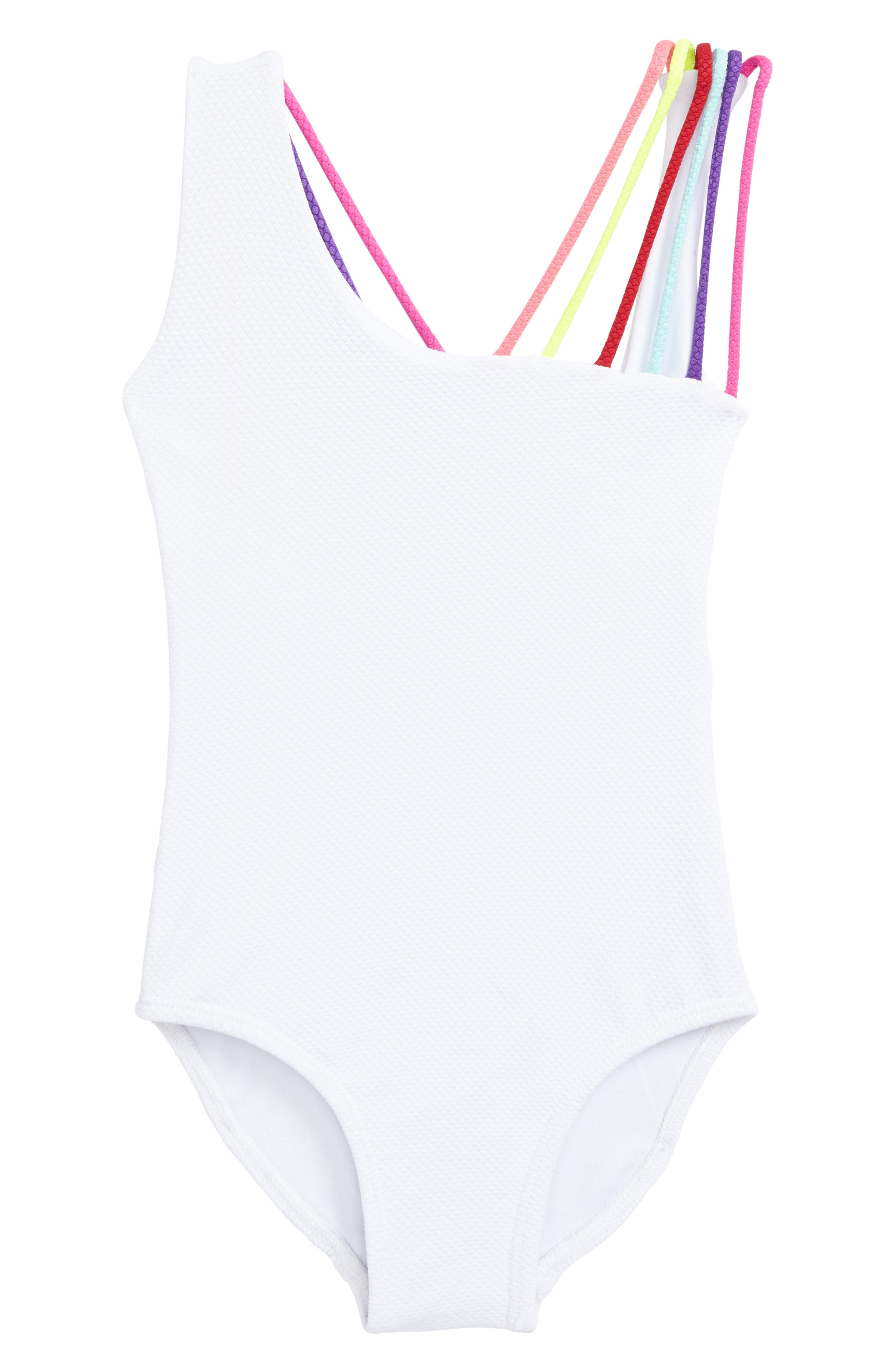 Olivia One-Piece Swimsuit,                         Main,                         color, White Sands