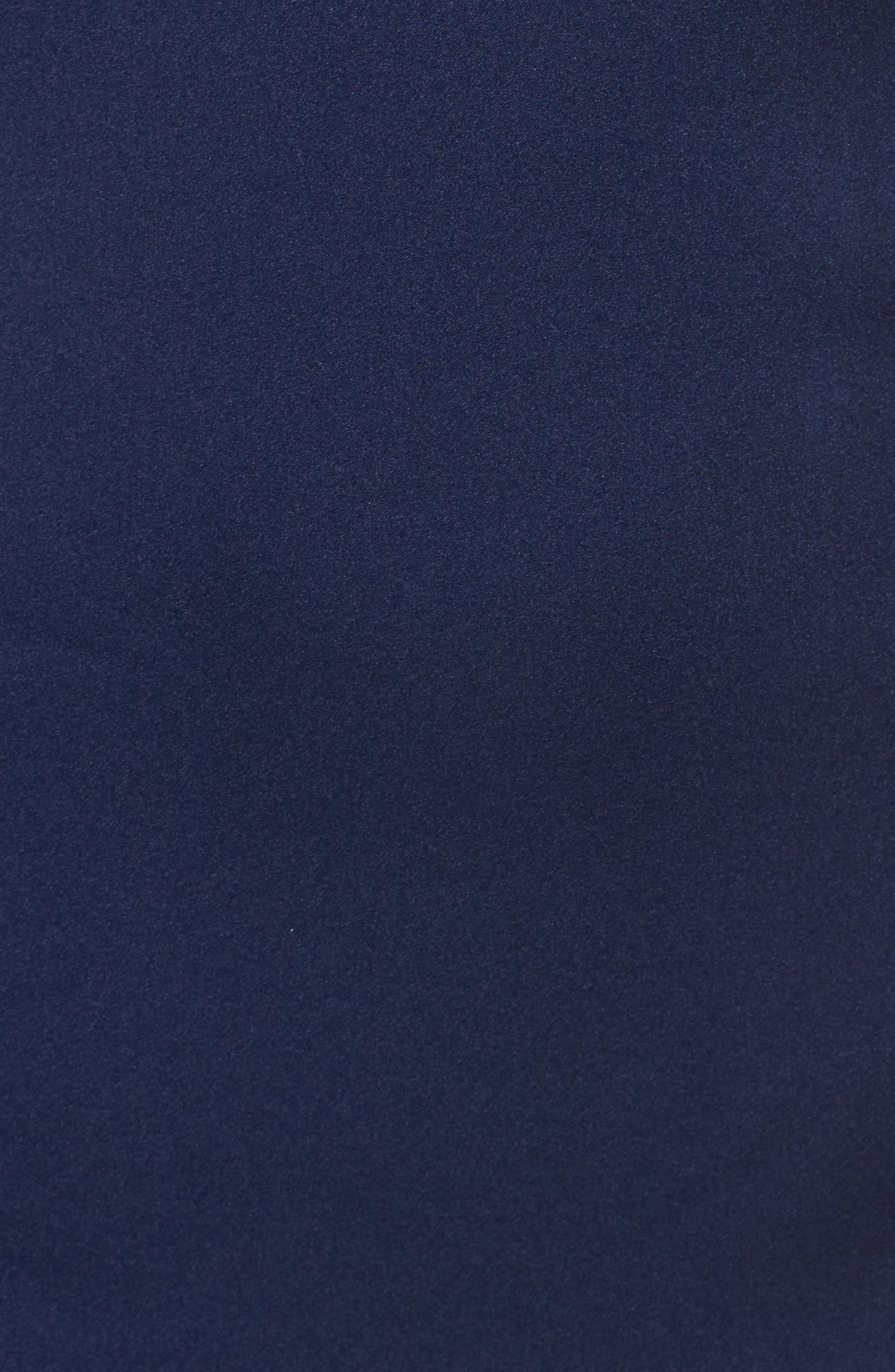 Alternate Image 5  - Ieena for Mac Duggal Embellished Cold Shoulder Gown