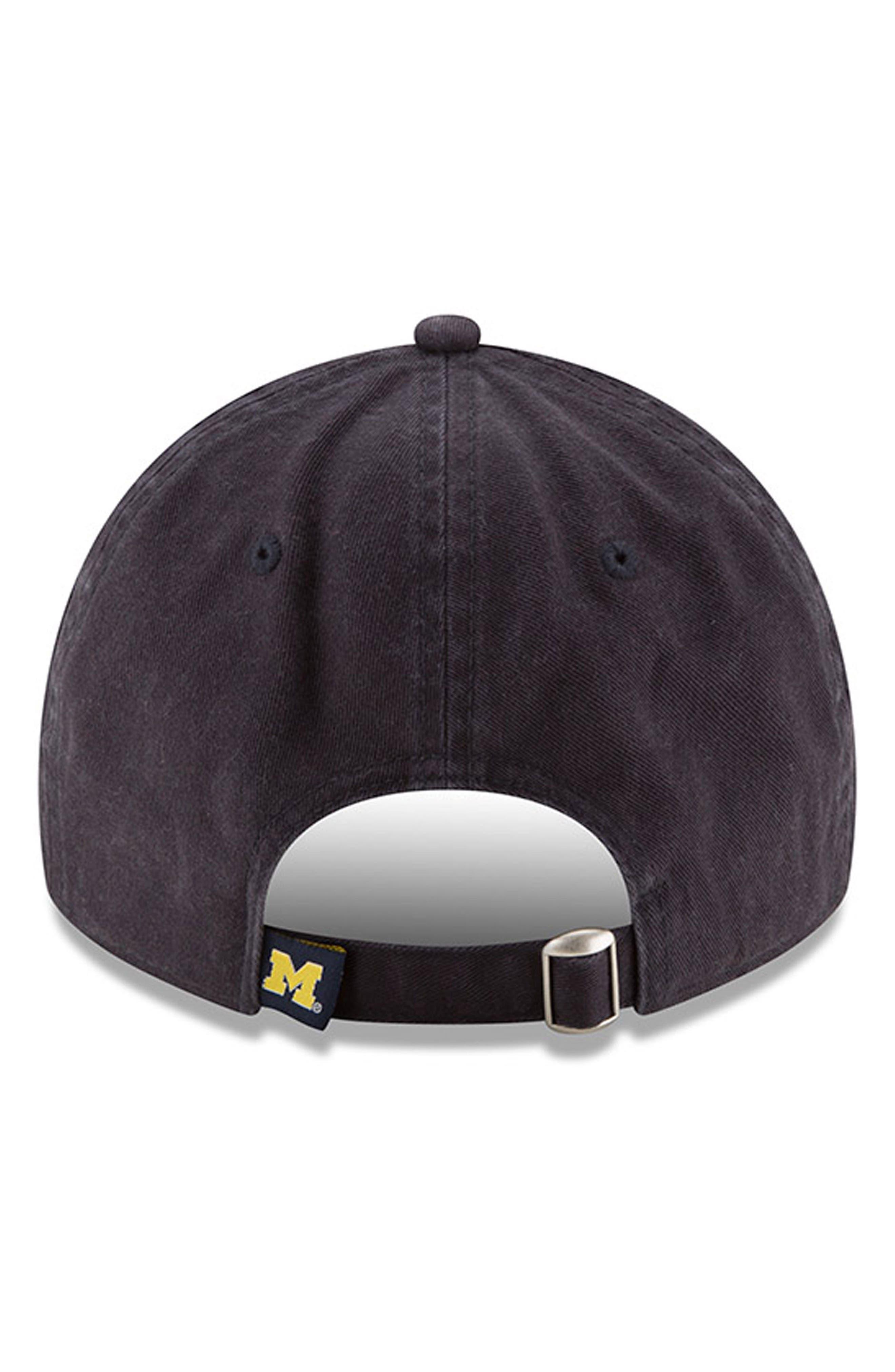 New Era Collegiate Core Classic - Michigan Wolverines Baseball Cap,                             Alternate thumbnail 2, color,                             Michigan Wolverines