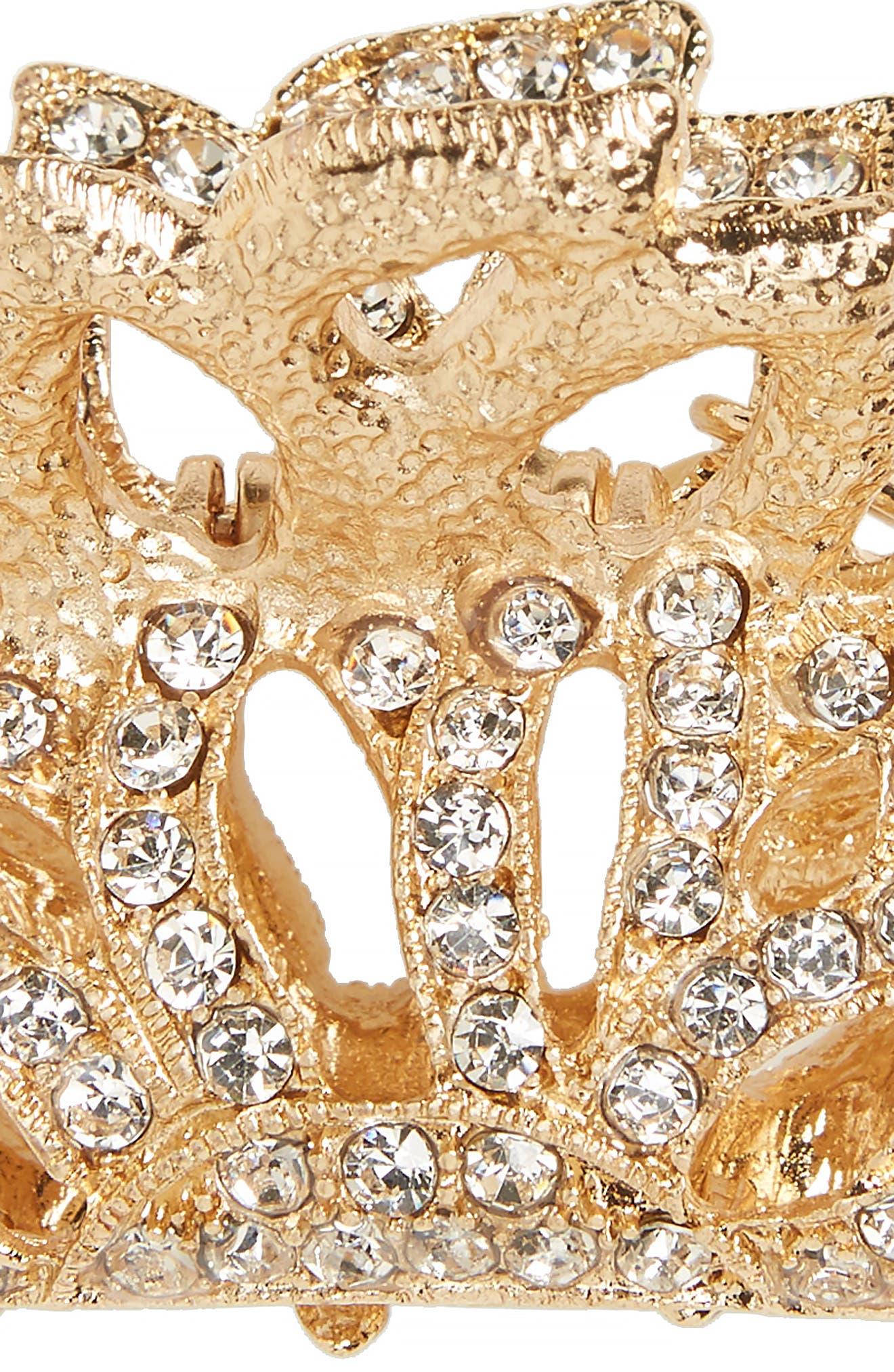 Alternate Image 2  - Tasha Crystal Jaw Clip