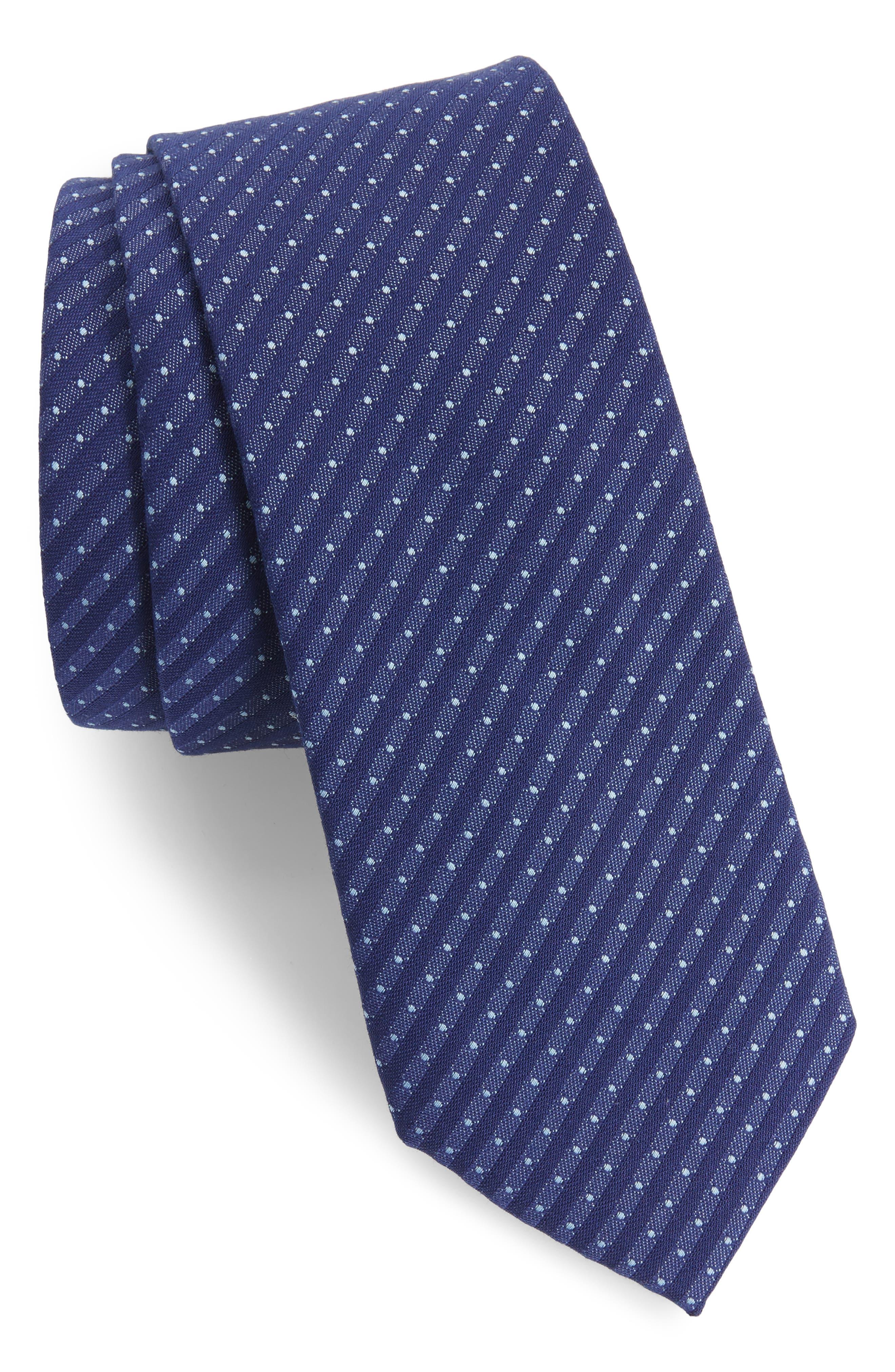 1901 Limestone Dot Skinny Tie