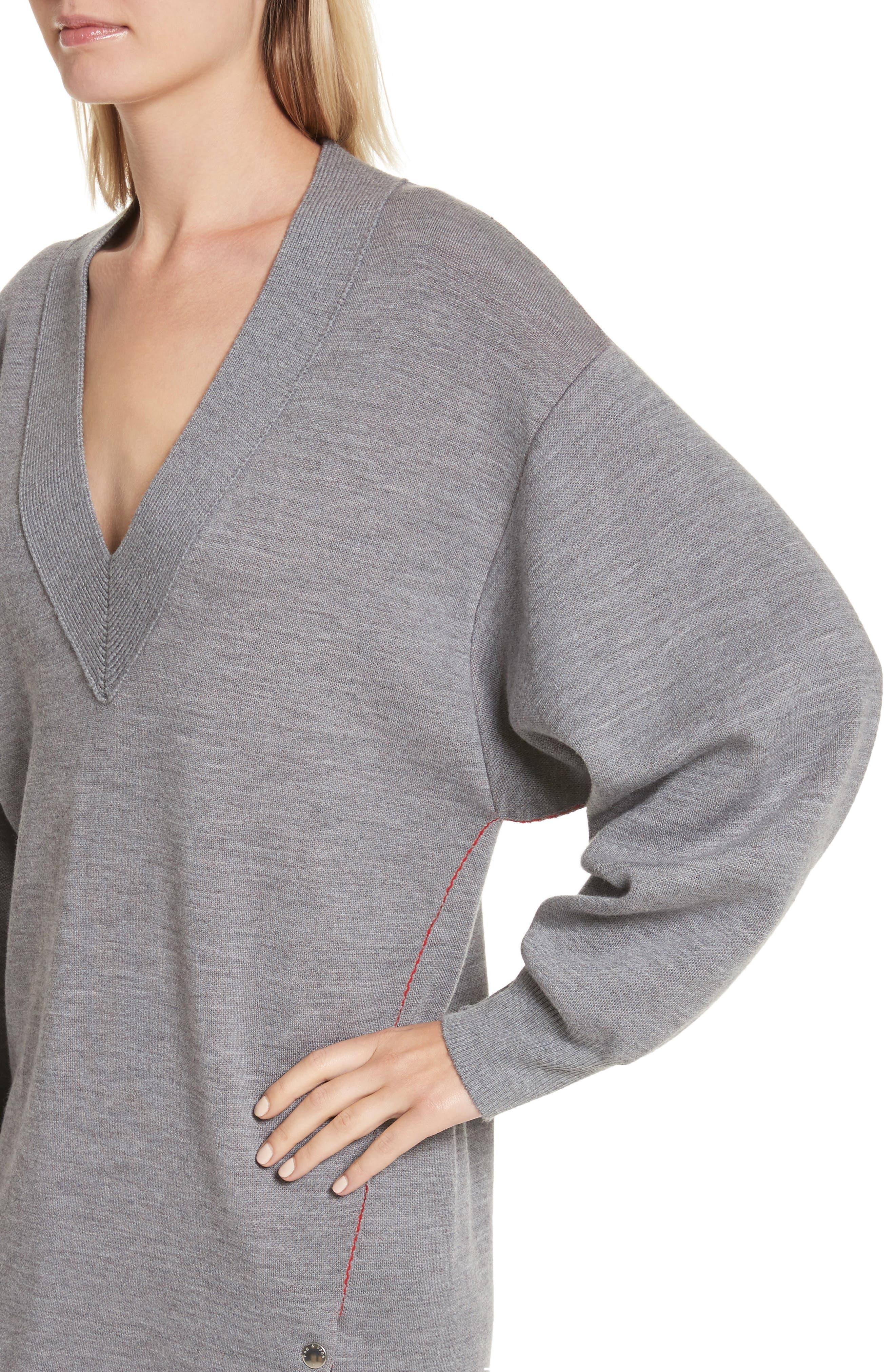 Alternate Image 4  - rag & bone Saralyn Merino Wool Blend Sweater Dress