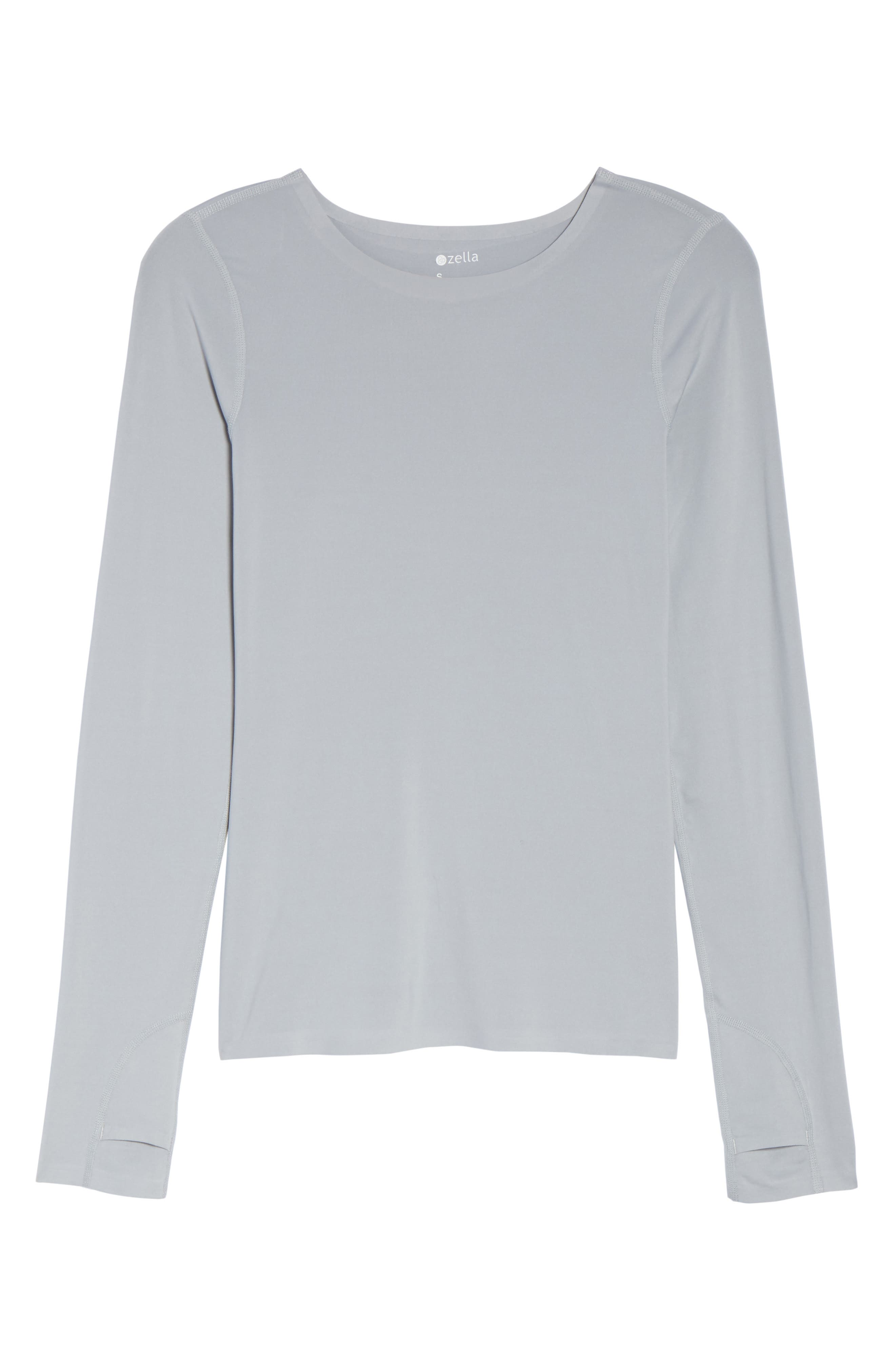 Realized Long Sleeve Tee,                             Alternate thumbnail 7, color,                             Grey Wolf