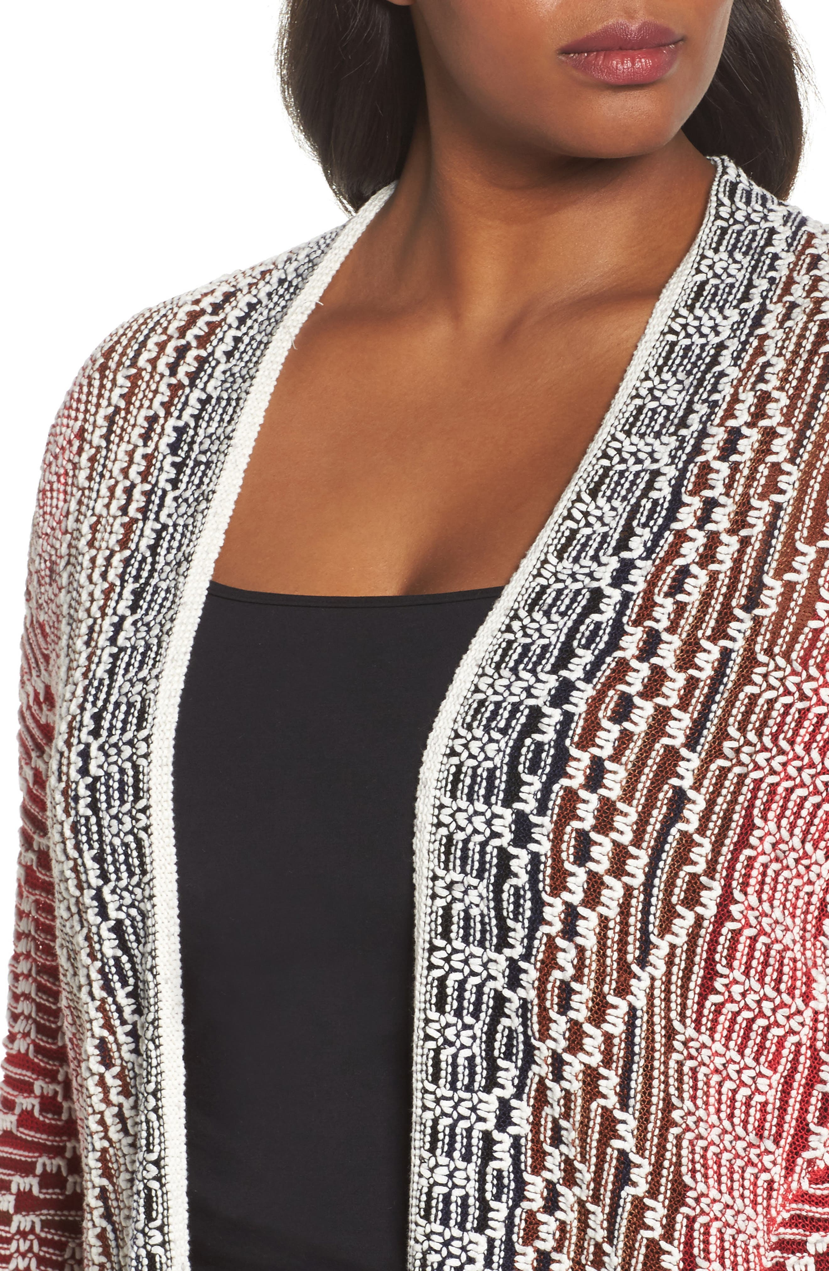 Alternate Image 4  - NIC+ZOE Fireside Cardigan (Plus Size)