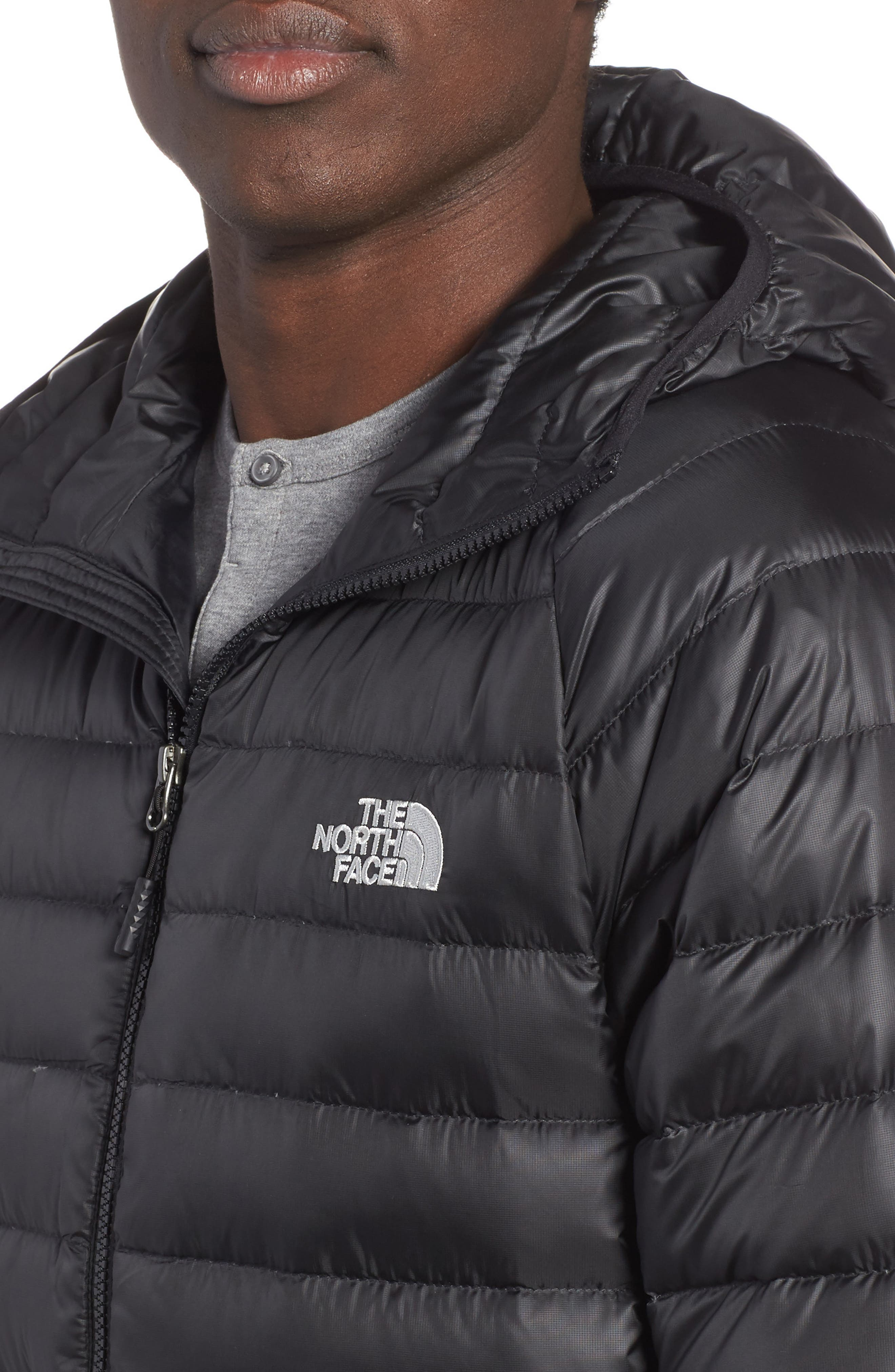 Alternate Image 4  - The North Face Trevail Water Repellent Packable 800-Fill-Power Down Hooded Jacket